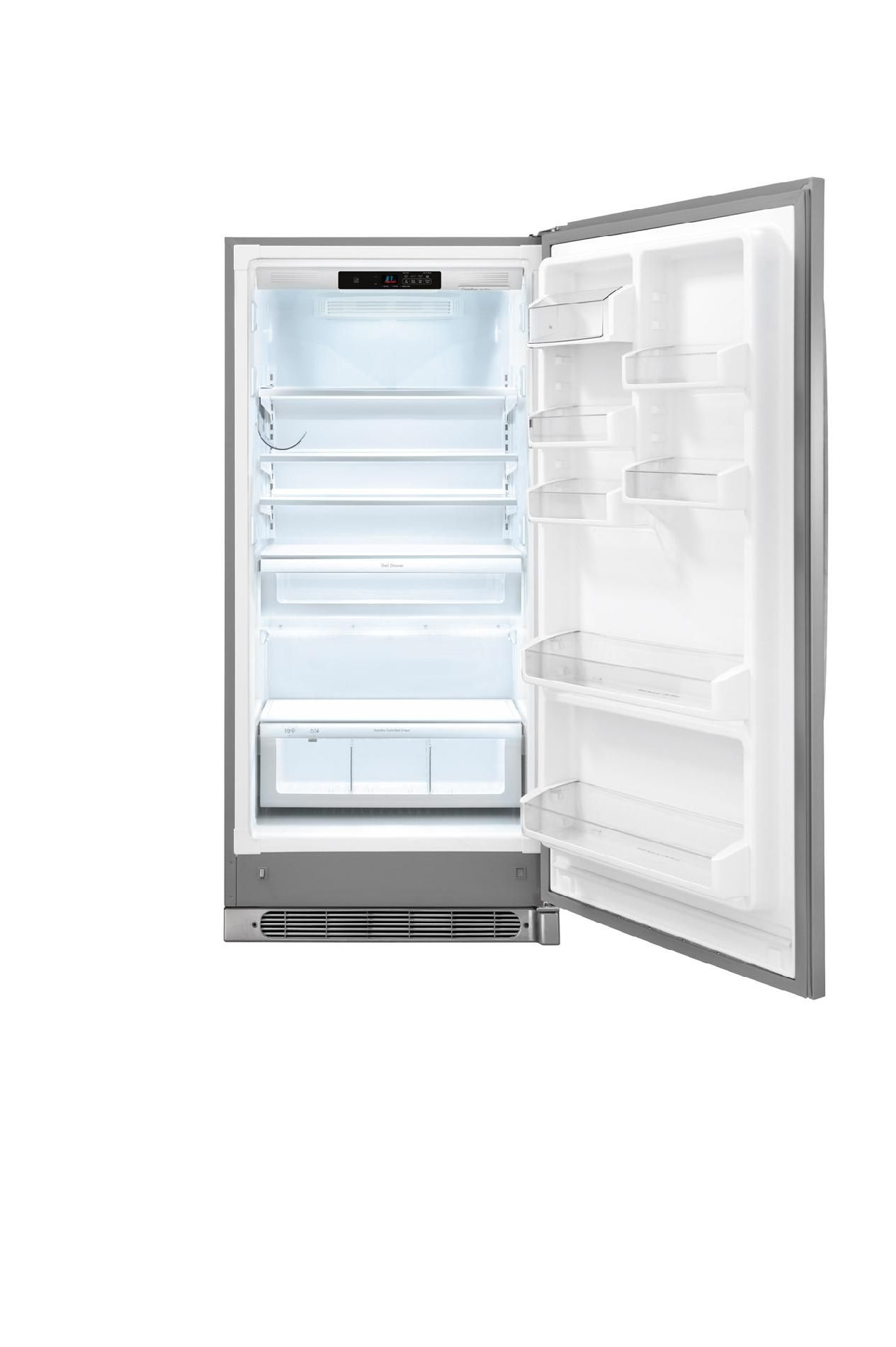 Kenmore Elite 18.6 cu. ft. Built-In All-Refrigerator - Stainless Steel