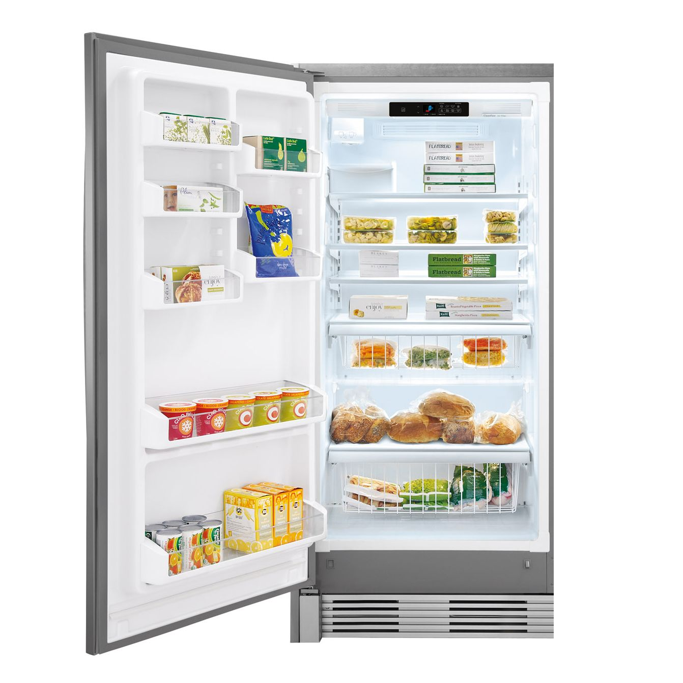 Kenmore Elite 18.6 cu. ft. Built-In All-Freezer - Stainless Steel