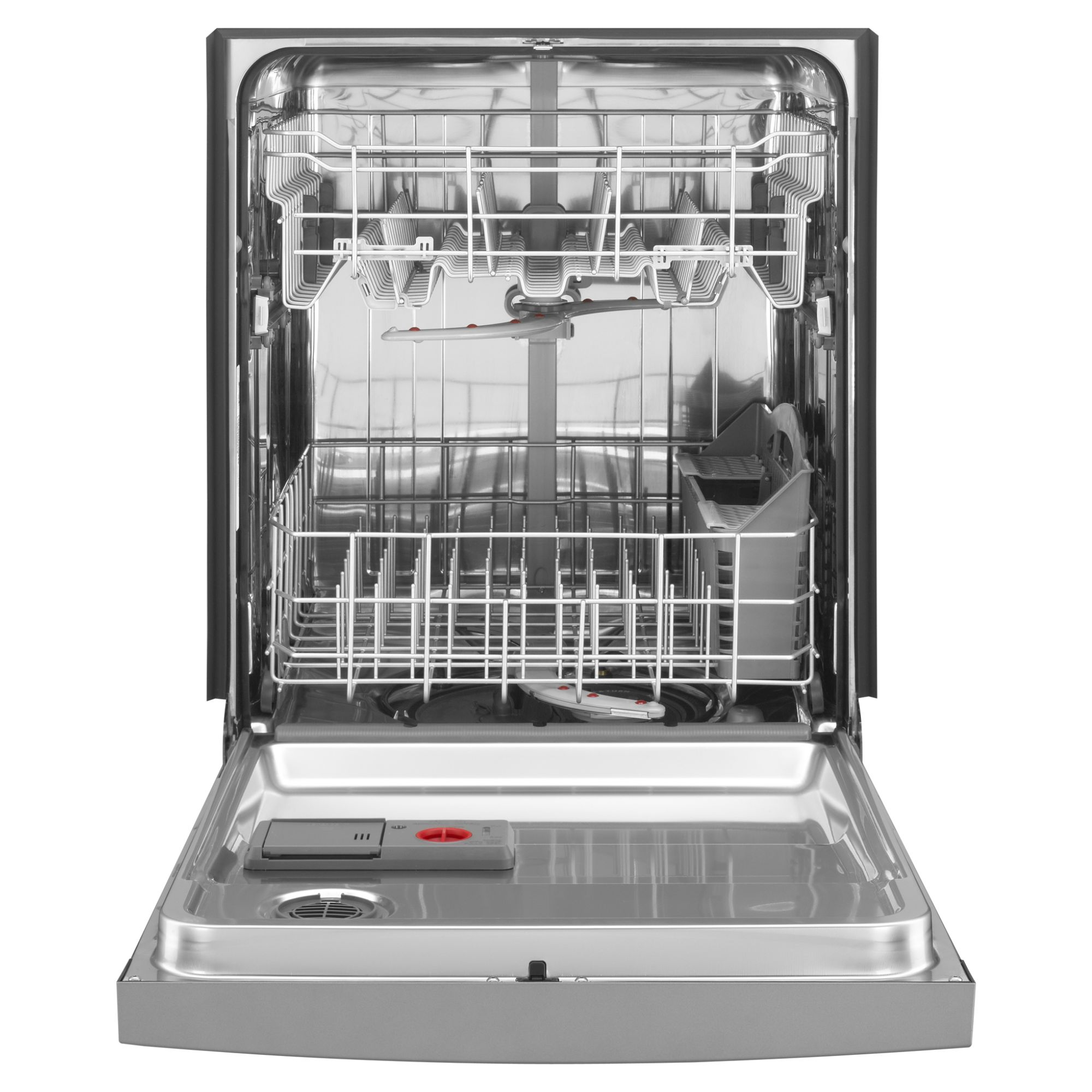 "Kenmore 24"" Built-In Dishwasher w/ Stainless Steel Tub & Stainless-Look Console"