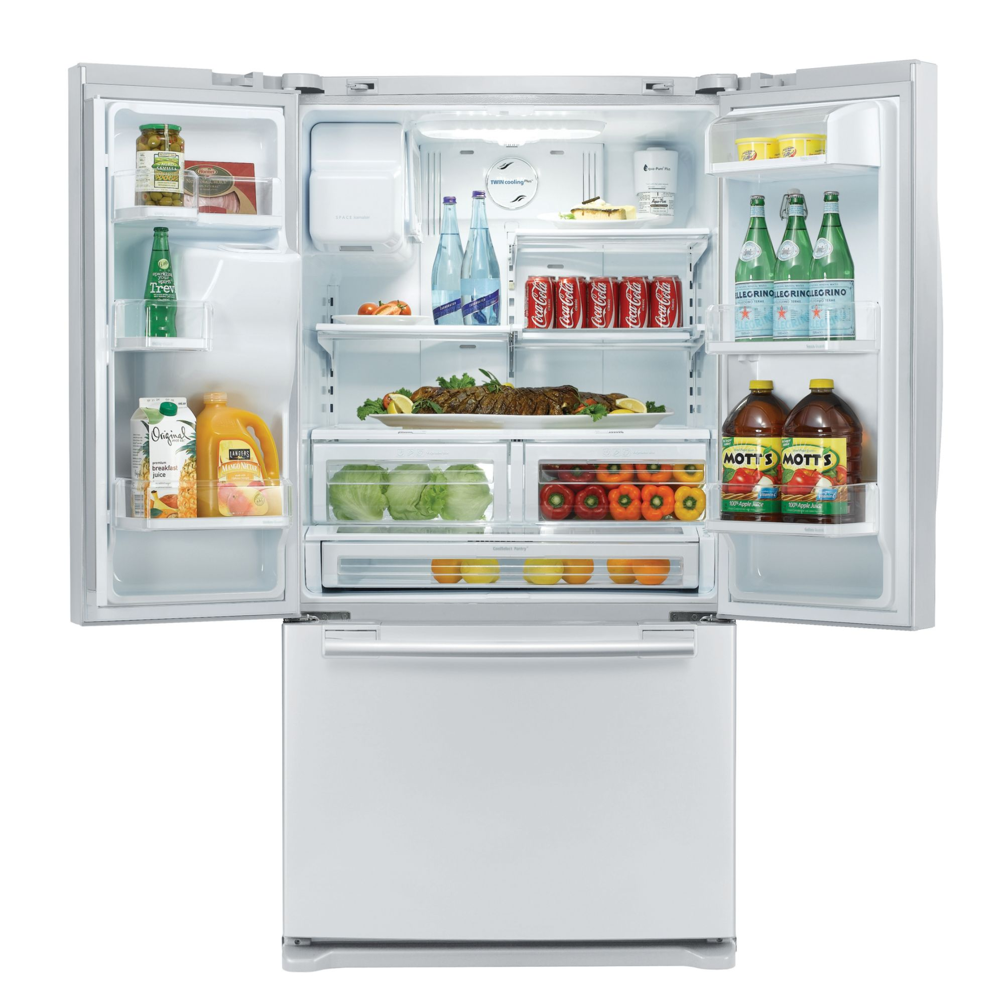 Samsung 23.0 cu. ft. Counter-Depth French-Door Refrigerator