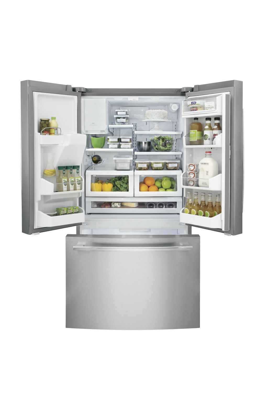 Frigidaire 22.6 cu. ft.Counter-Depth French-Door  Refrigerator - Stainless Steel