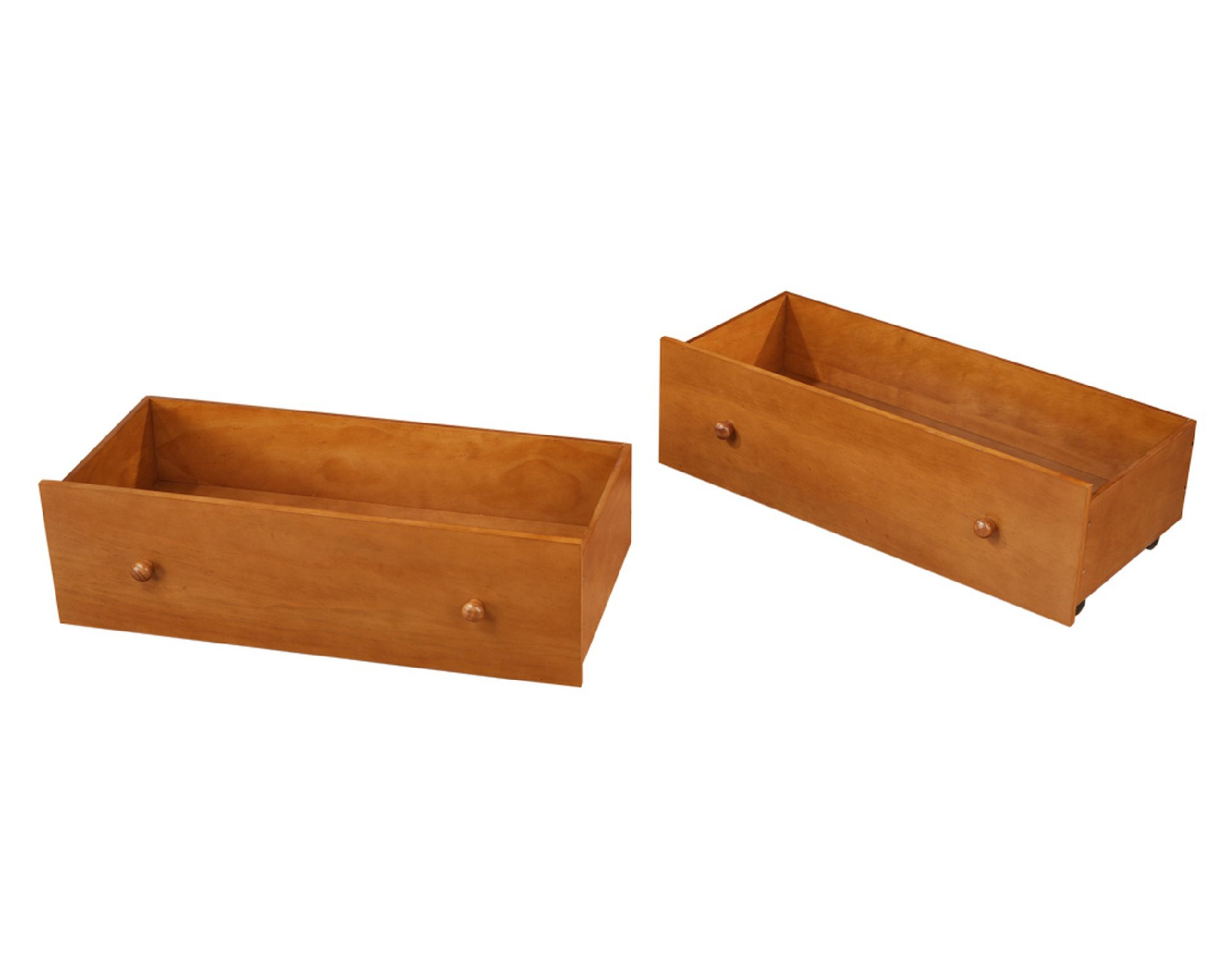 Dorel Home Furnishings Pine 2 Pack Underbed Storage Drawers