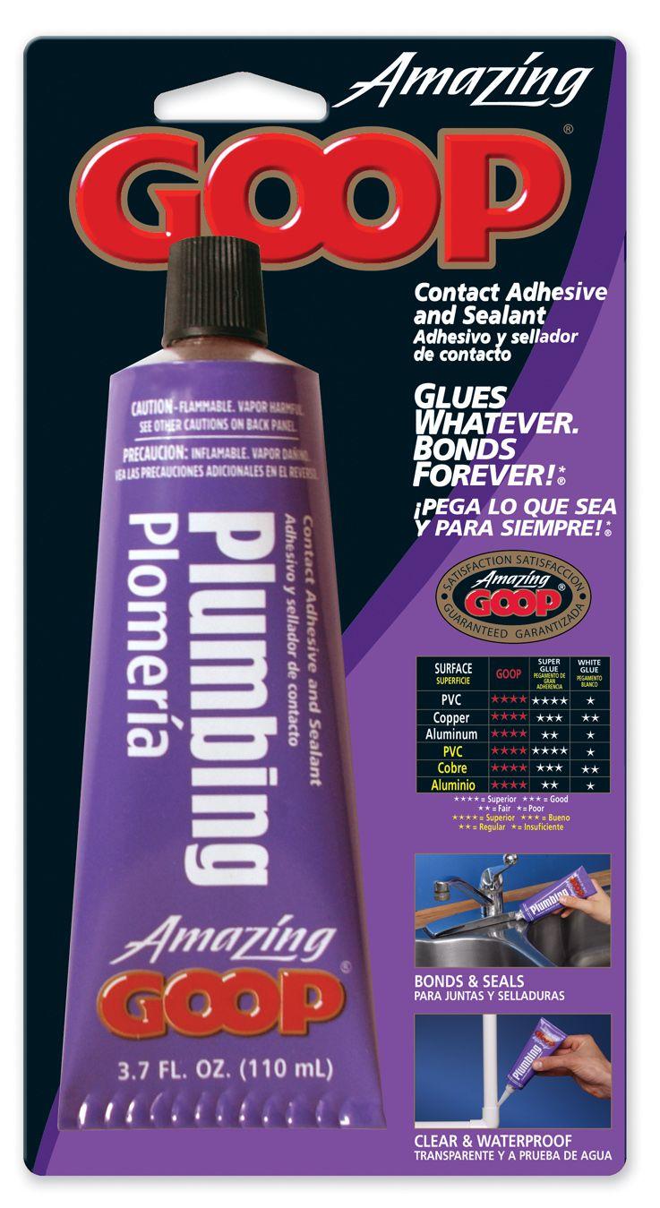 Amazing GOOP Plumbing 3.7 oz Adhesive