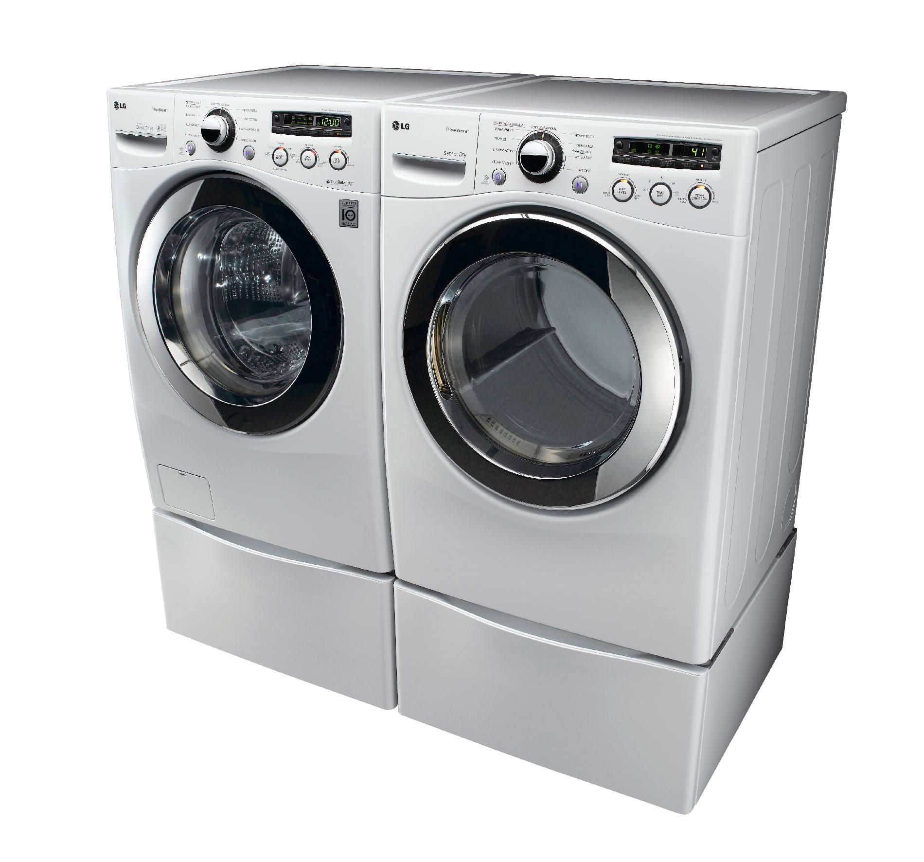 LG 7.3 cu. ft. Gas Dryer - White