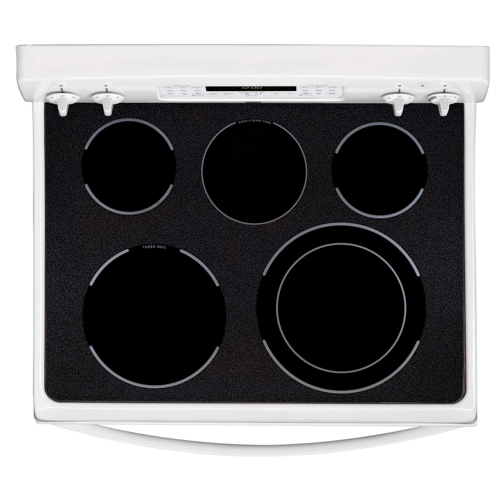 Kenmore 6.64 cu. ft. Double-Oven Electric Range w/ Convection - White
