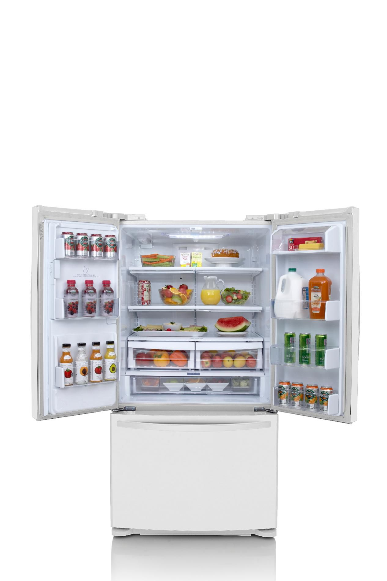 Kenmore 24.7 cu. ft. French-Door Bottom-Freezer Refrigerator - White