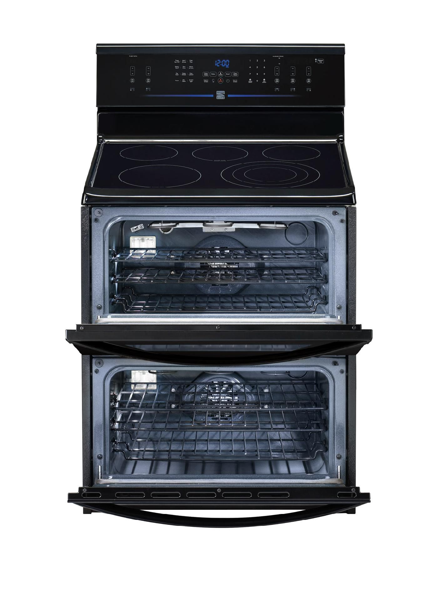 Kenmore Elite 7.0 cu. ft. Double-Oven Electric Range - Black