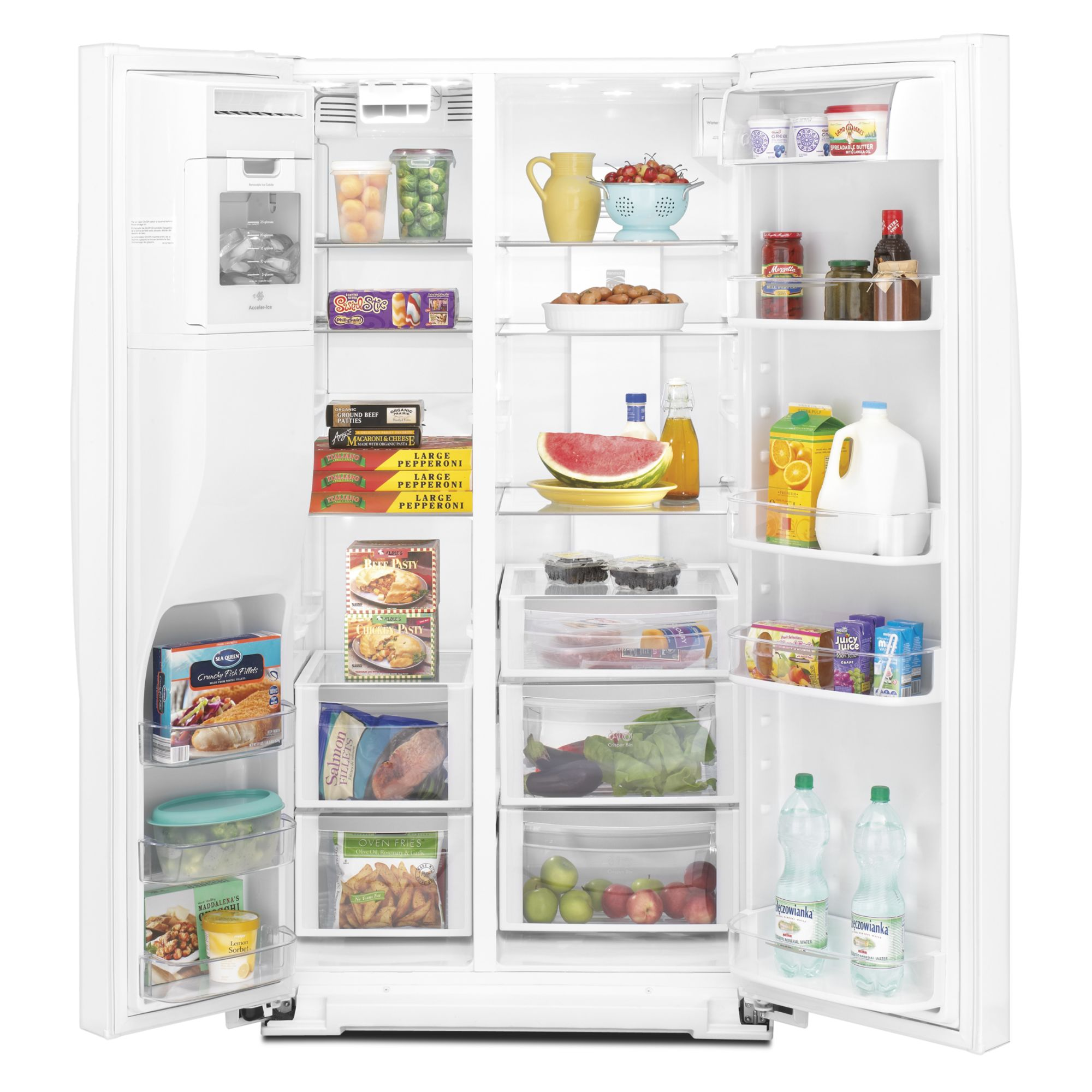 Kenmore Elite 29.2 cu. ft. Side-by-Side Refrigerator w/ Genius Cool™ - White