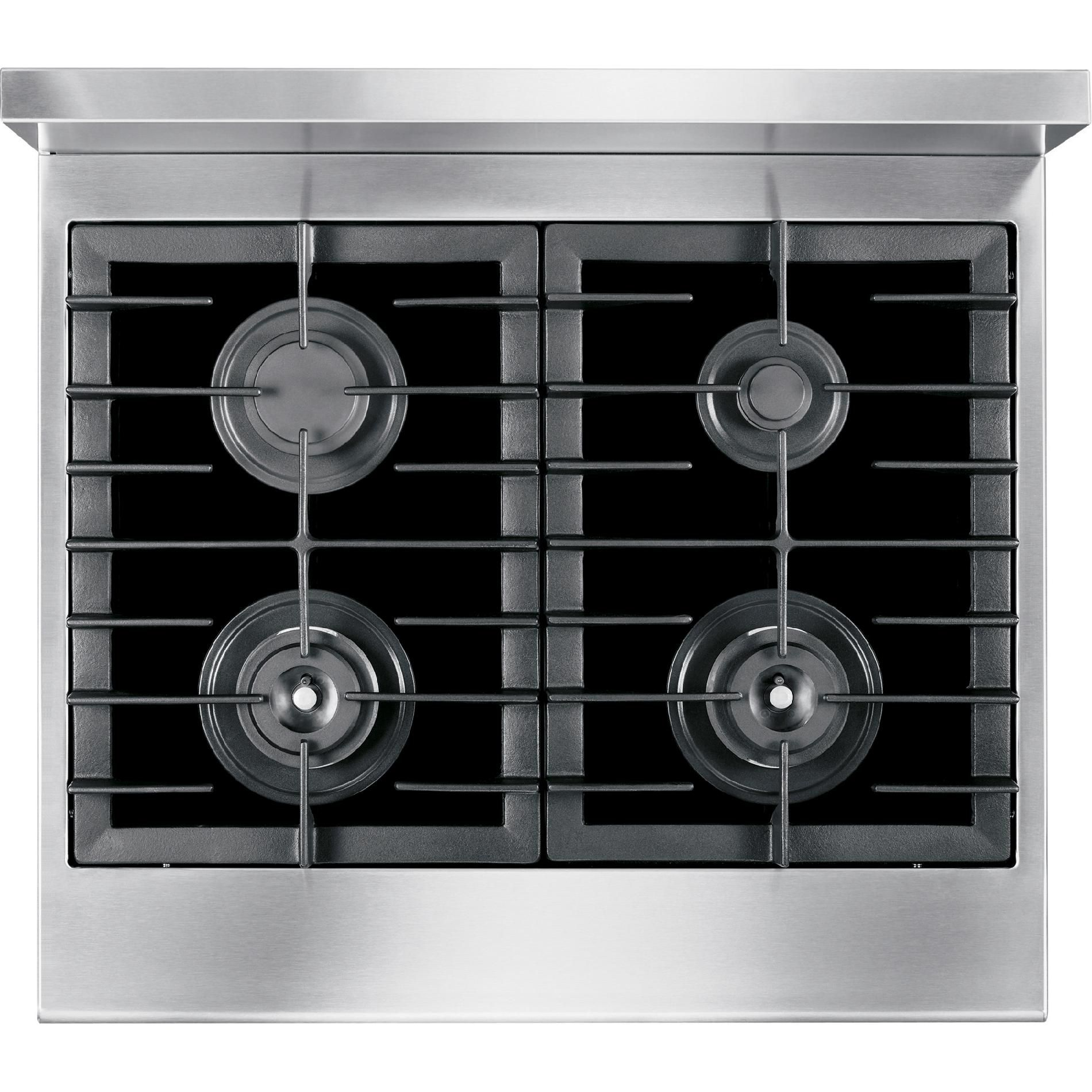 "Electrolux ICON 30"" Dual-Fuel Range - Stainless Steel"