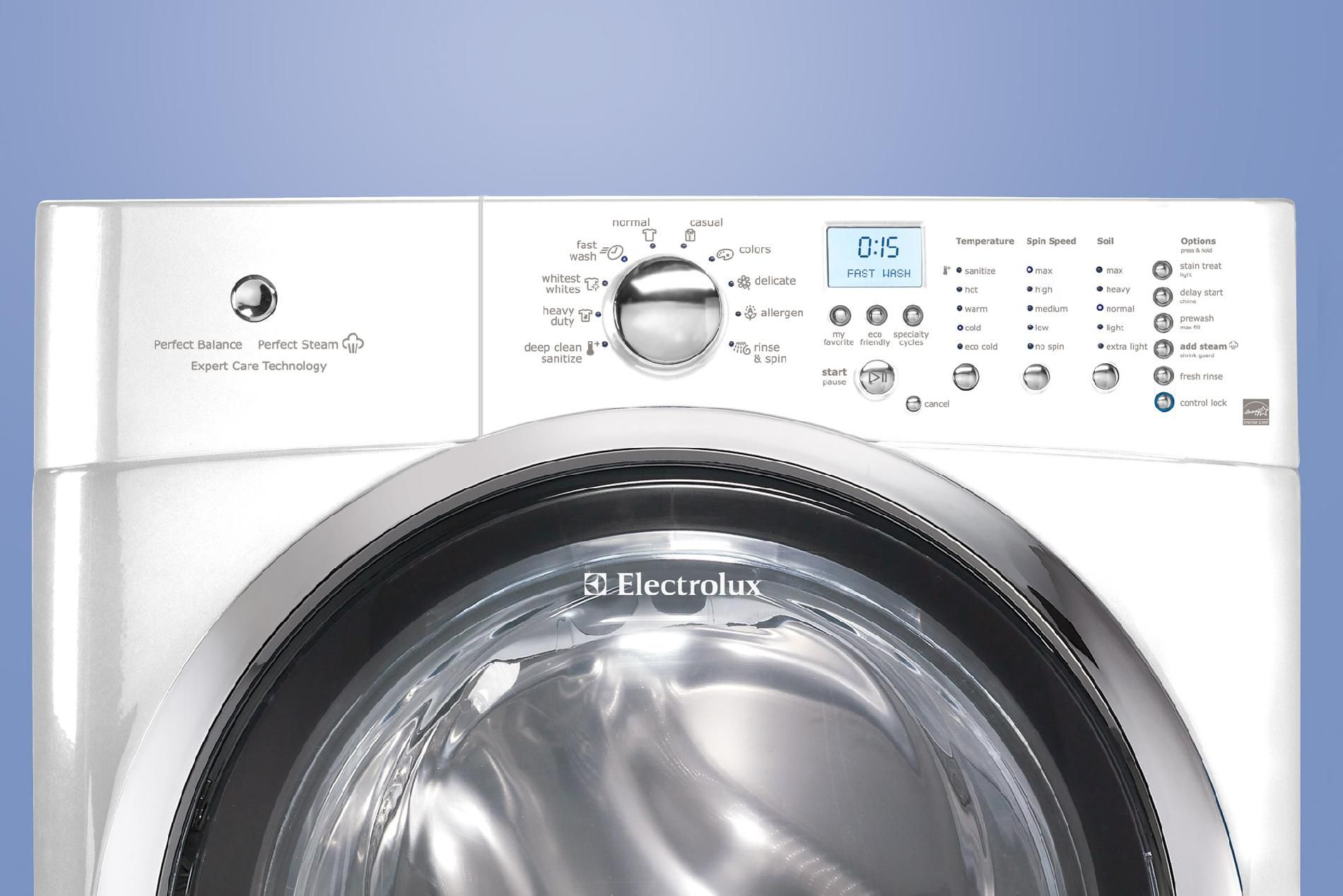 Electrolux 4.3 cu. ft. Front-Load Washer w/ Perfect Steam™ - White