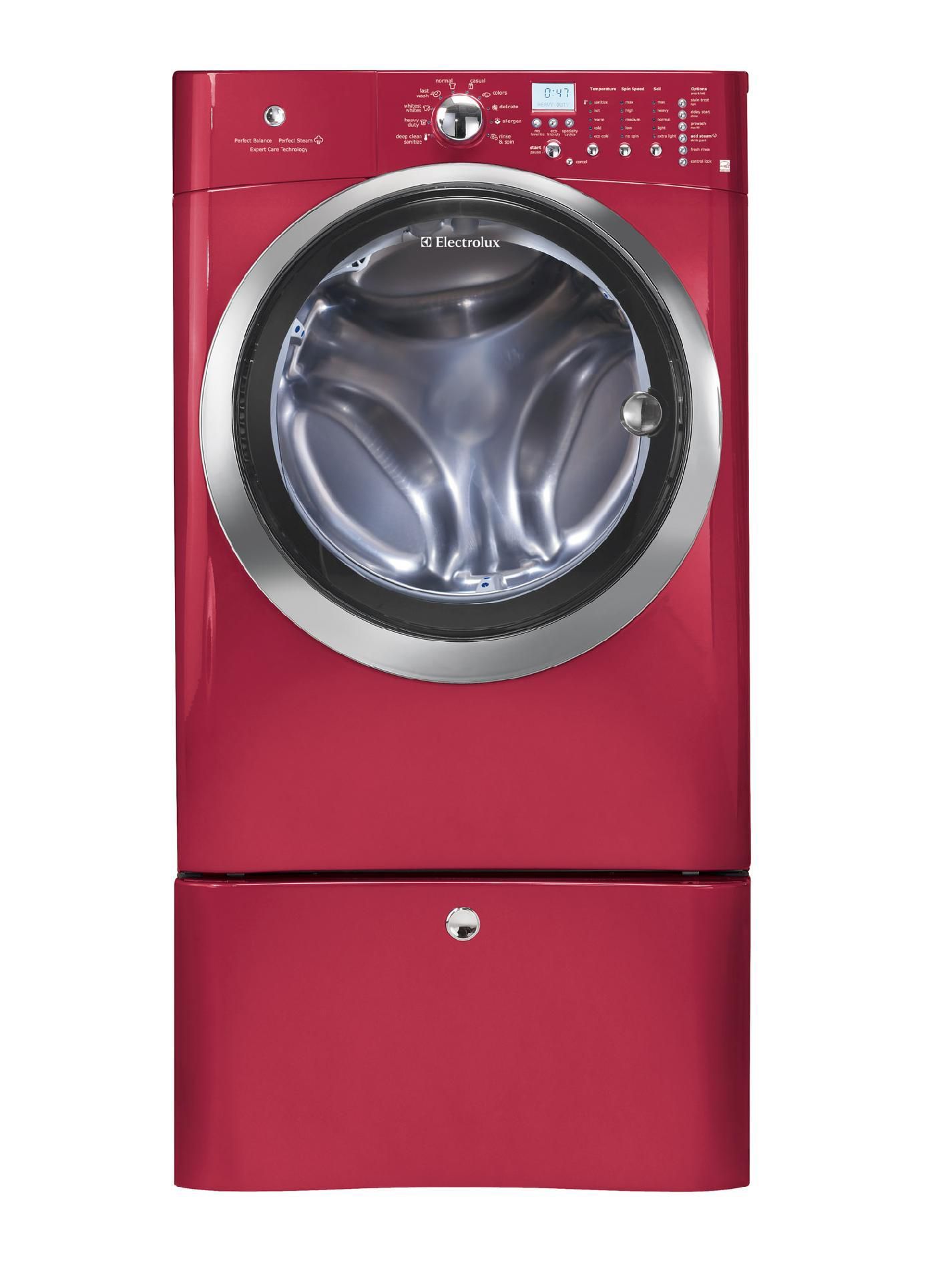 Electrolux 4.3 cu. ft. Front-Load Washer w/ Perfect Steam™ - Red Hot Red
