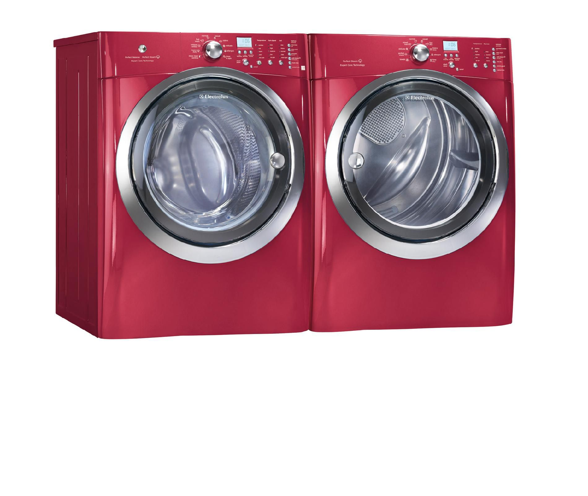 Electrolux IQ-Touch™ 8.0 cu. ft. Large-Capacity Electric Dryer - Red