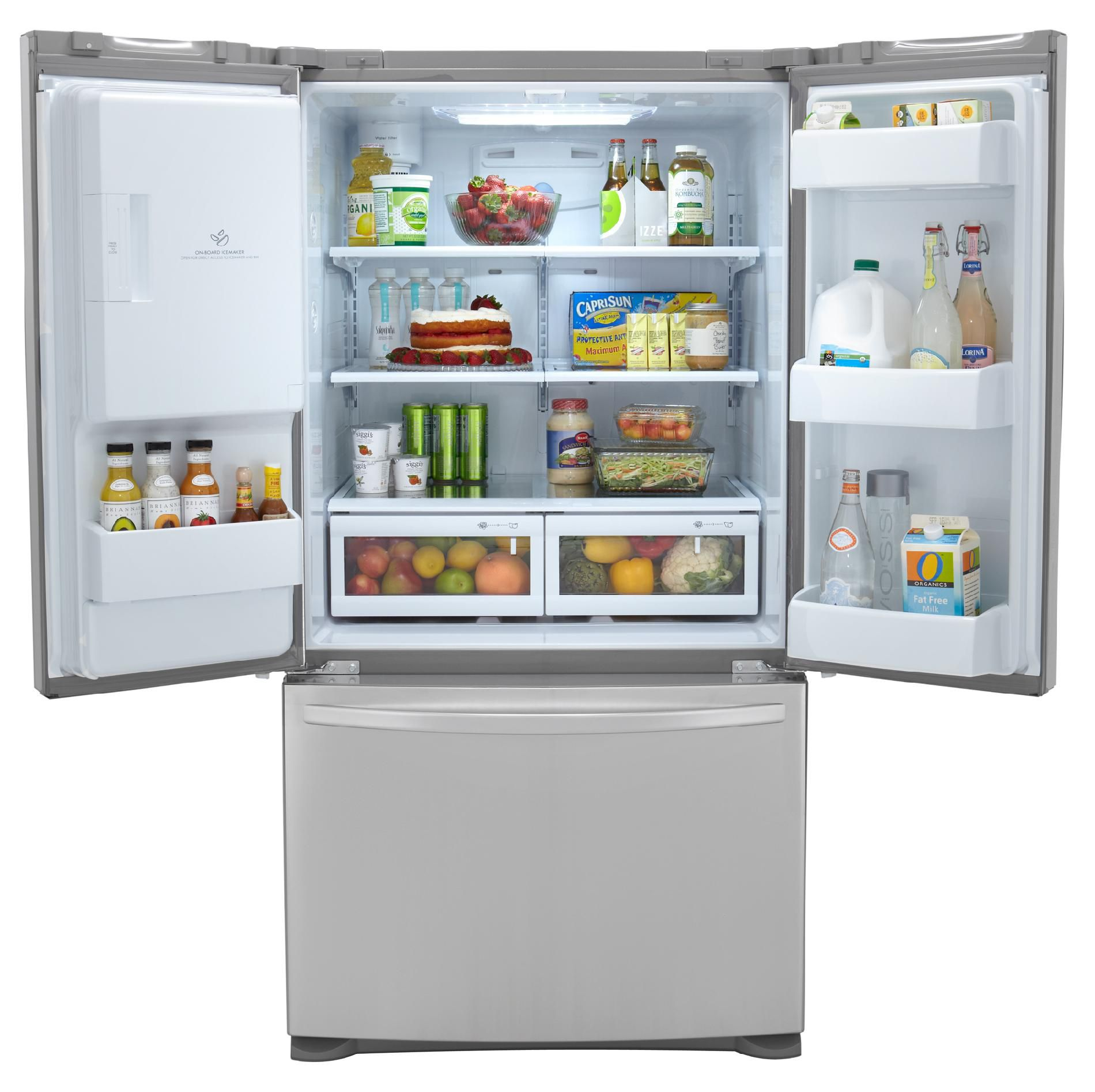 Kenmore 24.7 cu. ft. French-Door Bottom-Freezer, Stainless