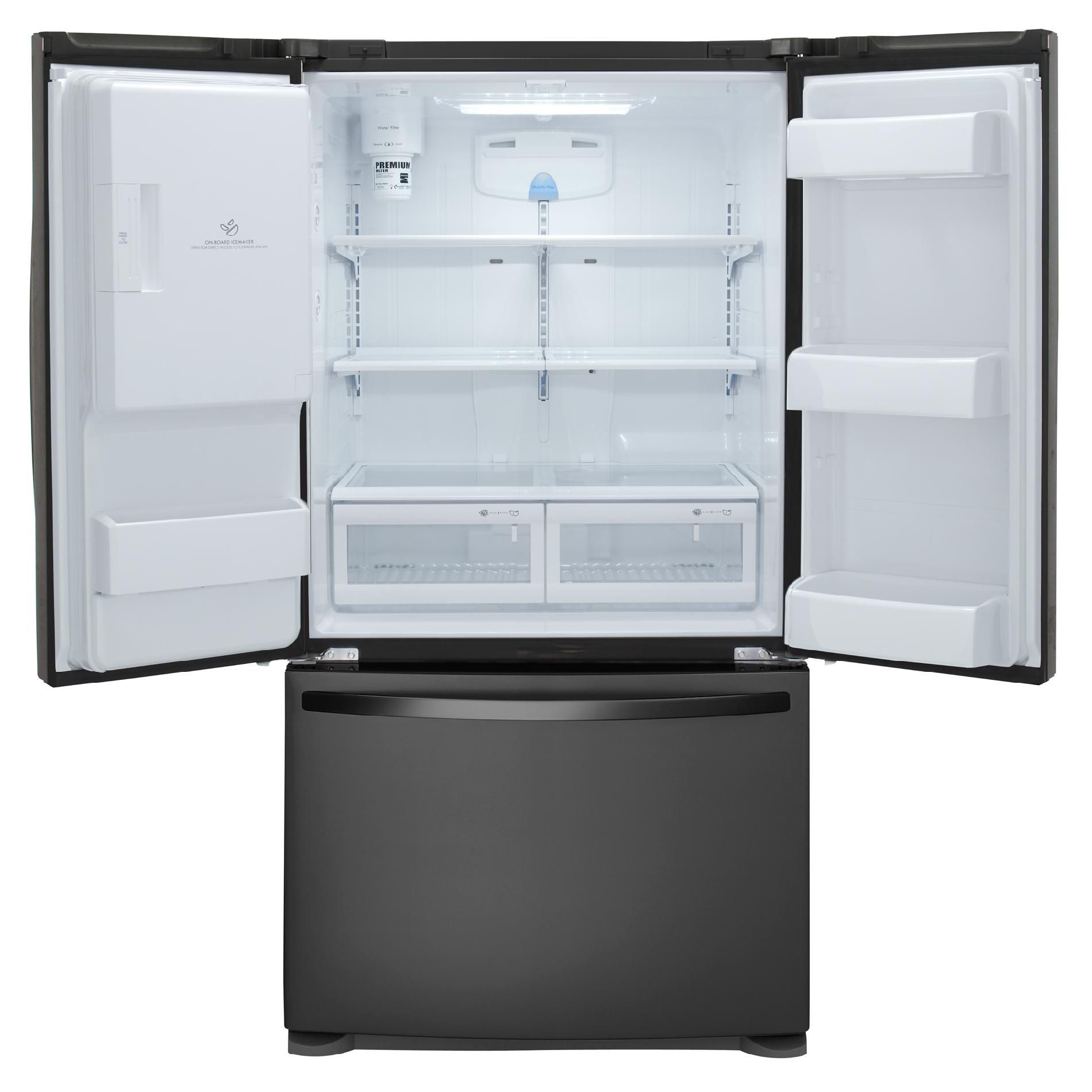 Kenmore 24.7 cu. ft. French-Door Bottom-Freezer, Black
