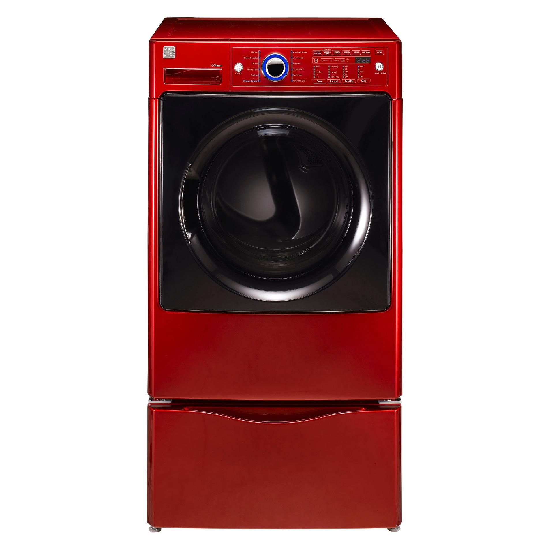 Kenmore Elite 7.4 cu. ft. Electric Steam Dryer - Red