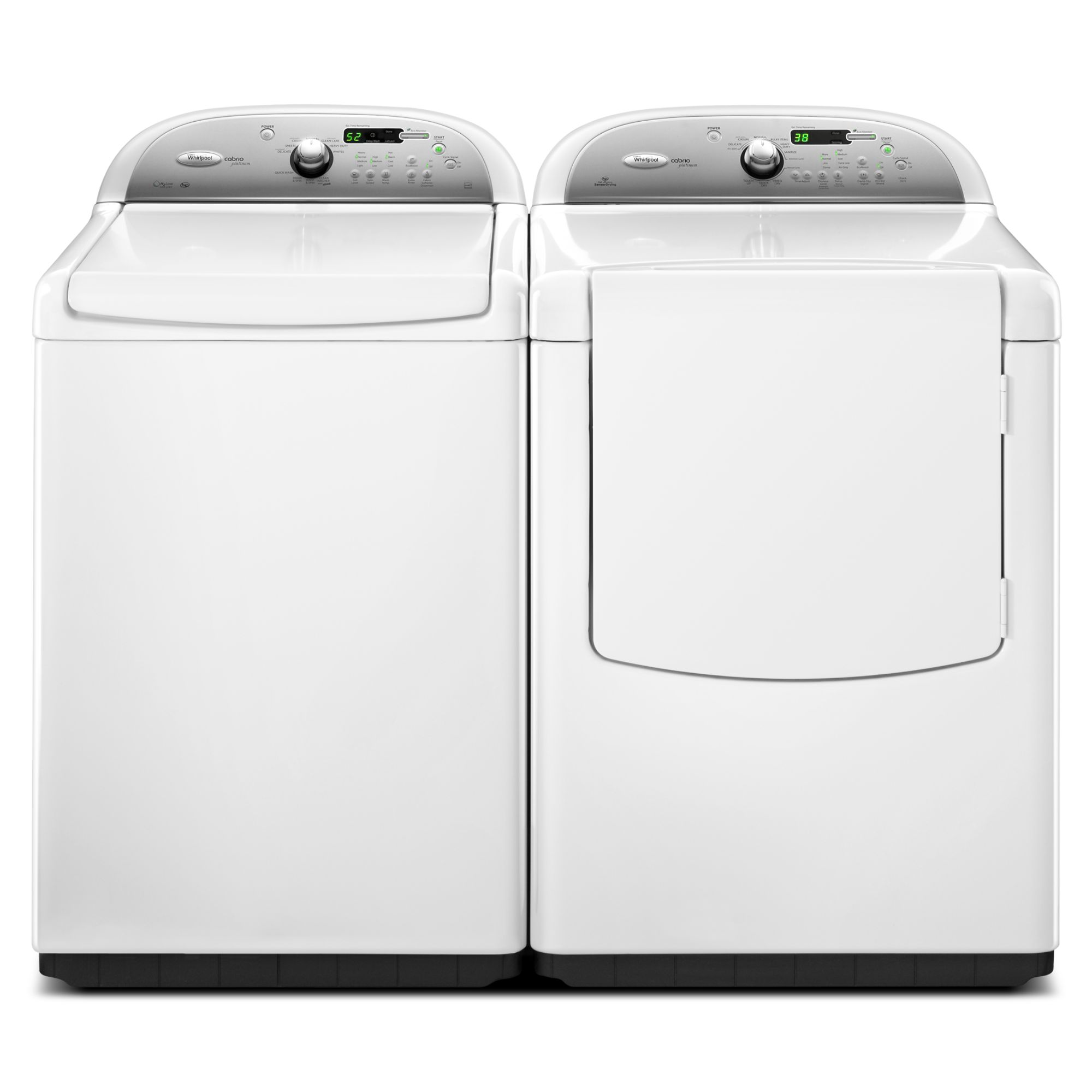 Whirlpool 7.6 cu. ft. Electric Dryer, White