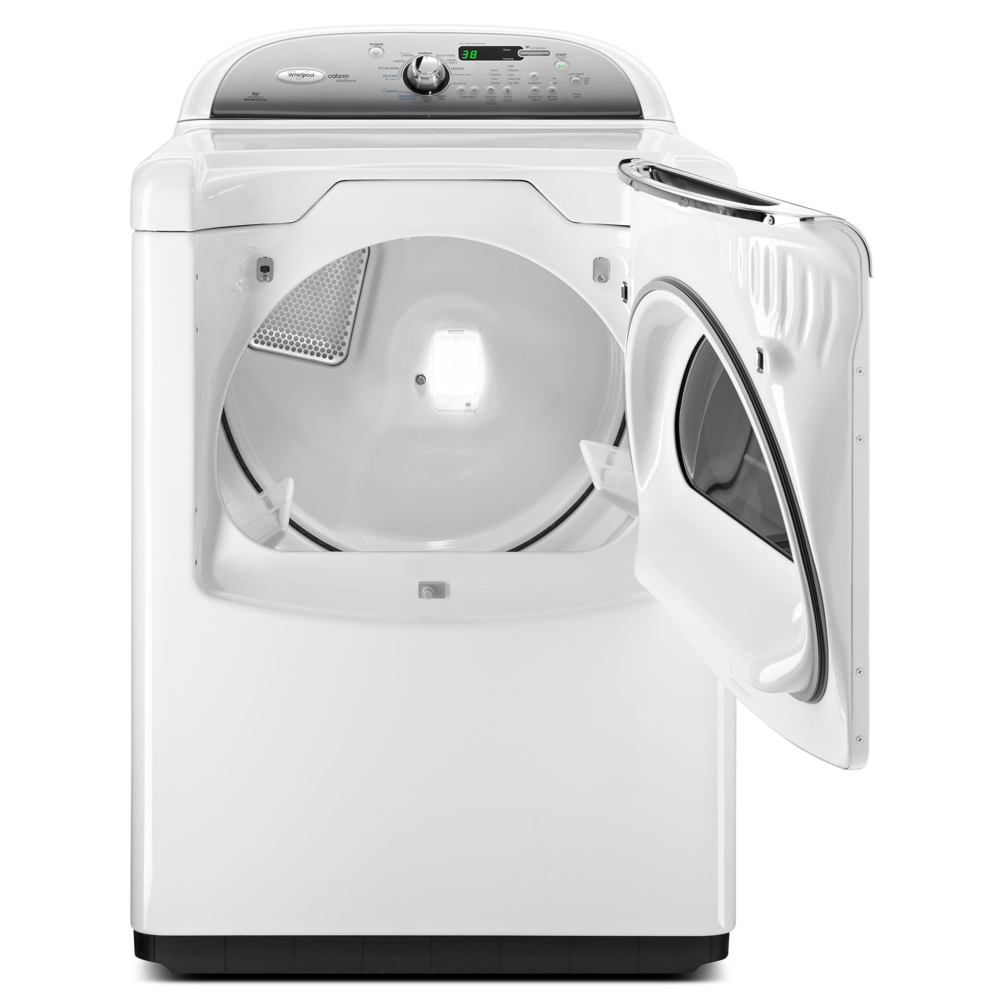 Whirlpool 7.6 cu. ft. Steam Gas Dryer - White