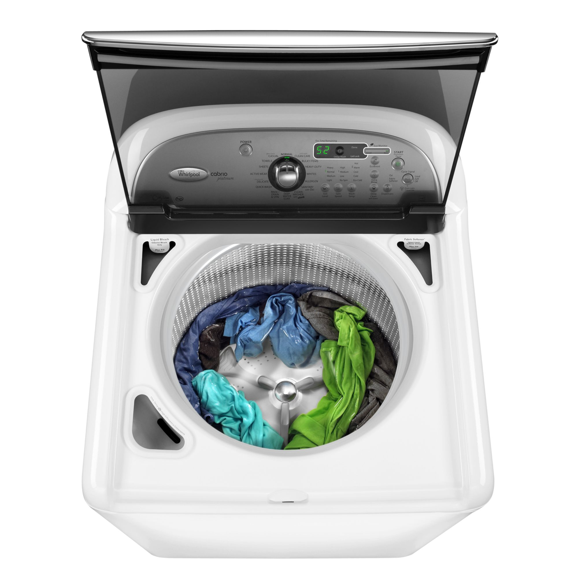 Whirlpool 4.6 cubic foot Top-Load High-Efficiency Washing Machine