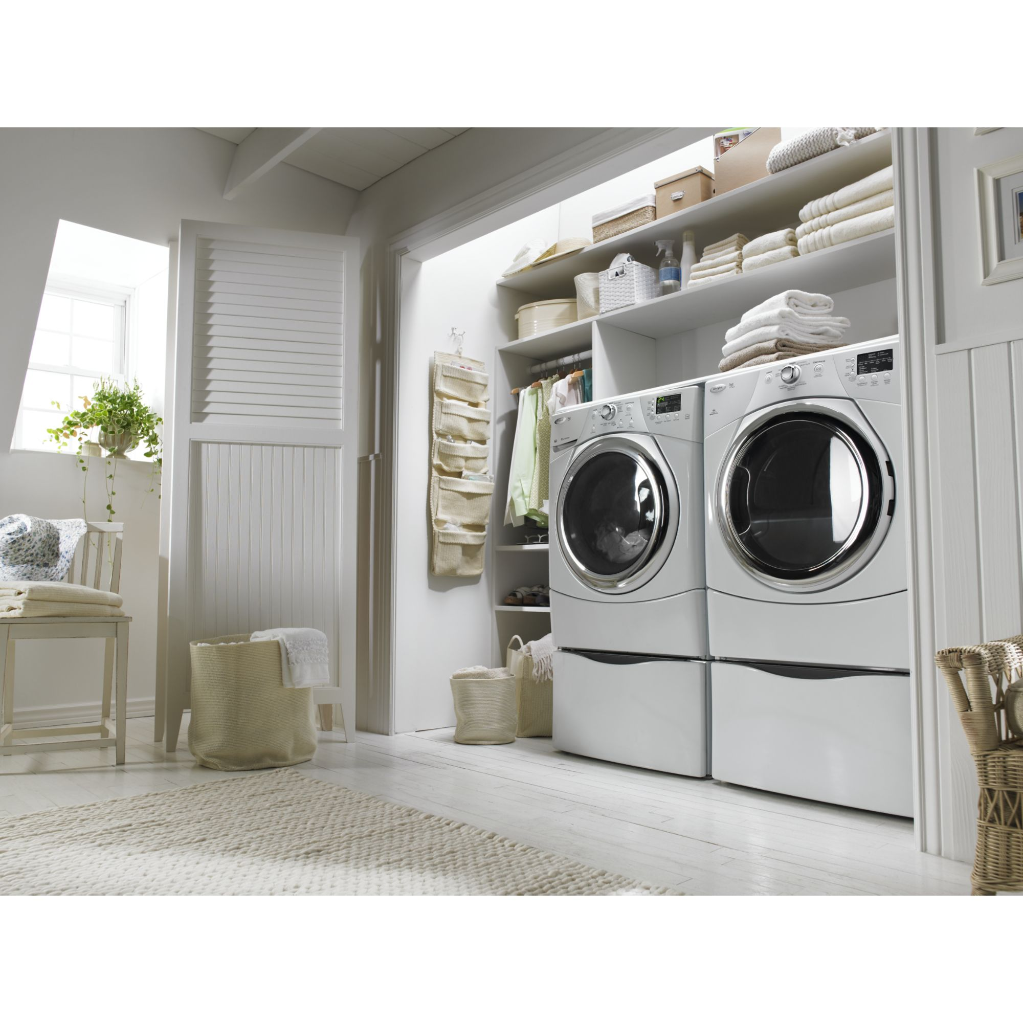 Whirlpool 6.7 cu. ft. Steam Gas Dryer  - White