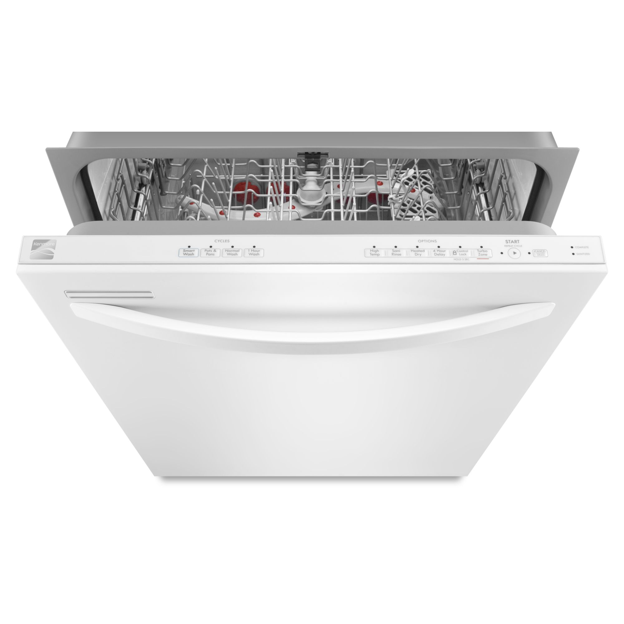 "Kenmore 24"" Built-In Dishwasher - White"