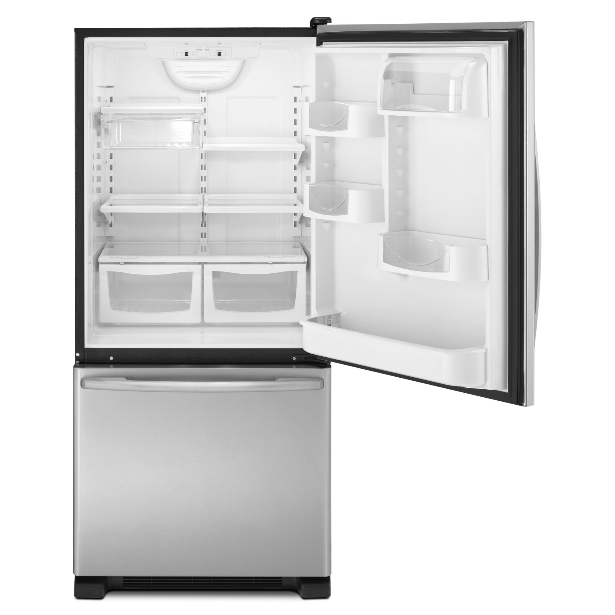 Maytag 18.5 cu. ft. Bottom-Freezer Refrigerator - Stainless