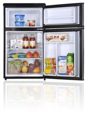 Kenmore 3.1 cu ft. 2-Door Compact Refrigerator, Stainless Steel
