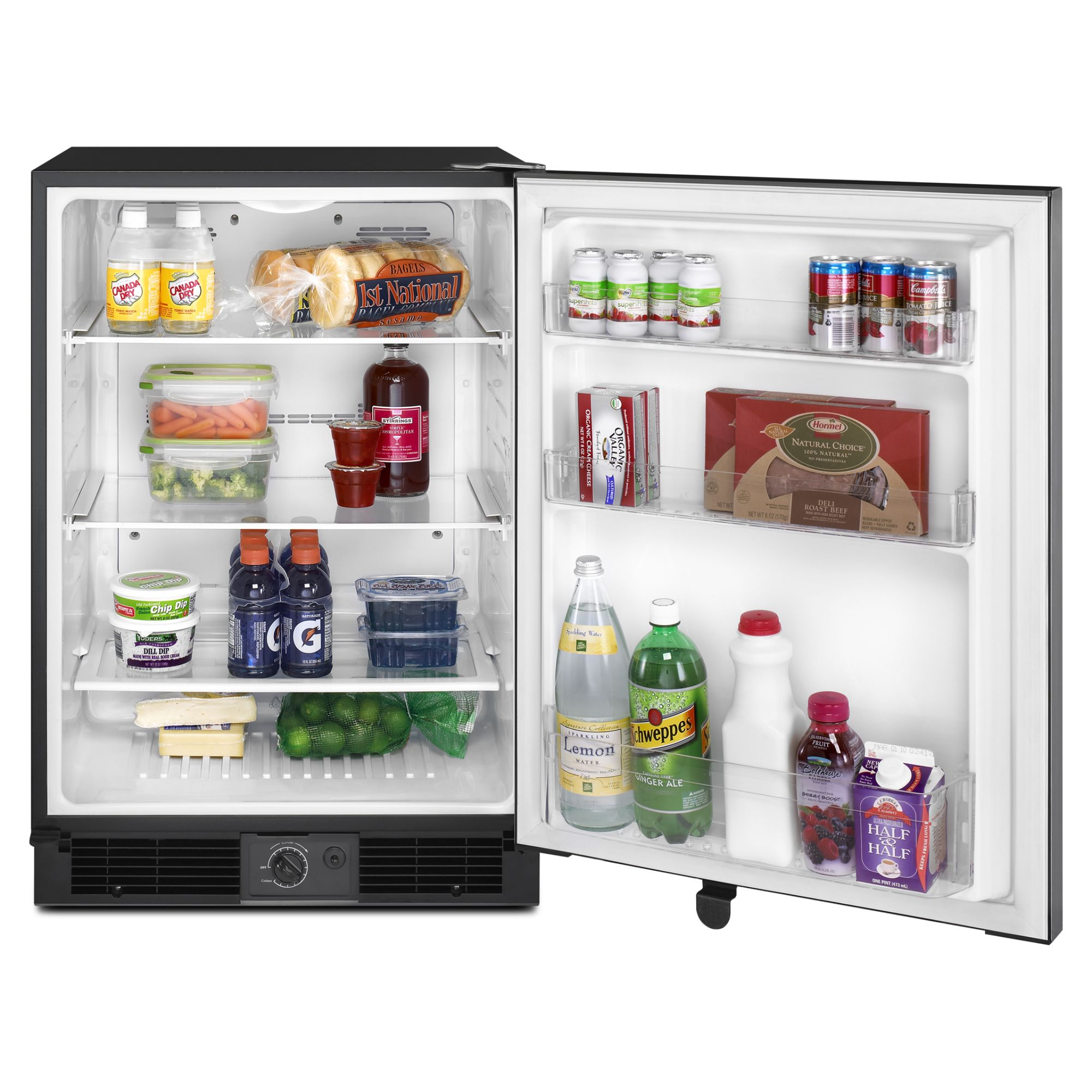 Maytag 5.6 cu. ft. Undercounter Refrigerator with Removable Shelves - Stainless Steel