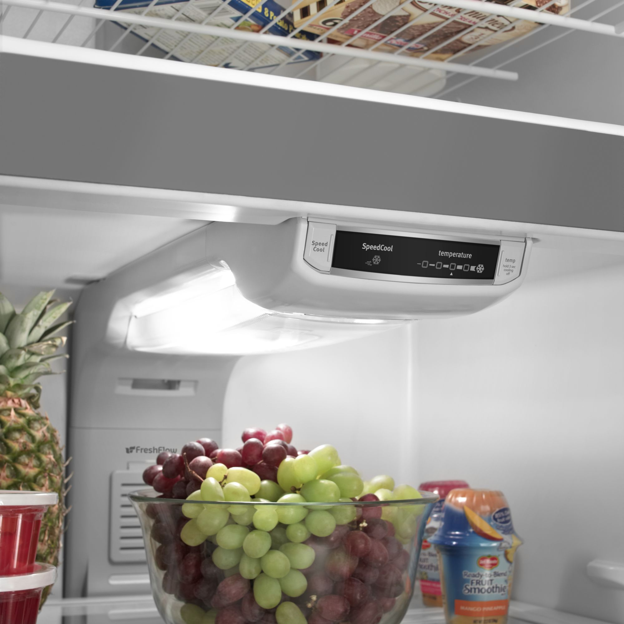 Maytag 18.9 cu. ft. Top-Freezer Refrigerator w/ Strongbox™ Door Bins - Stainless Steel