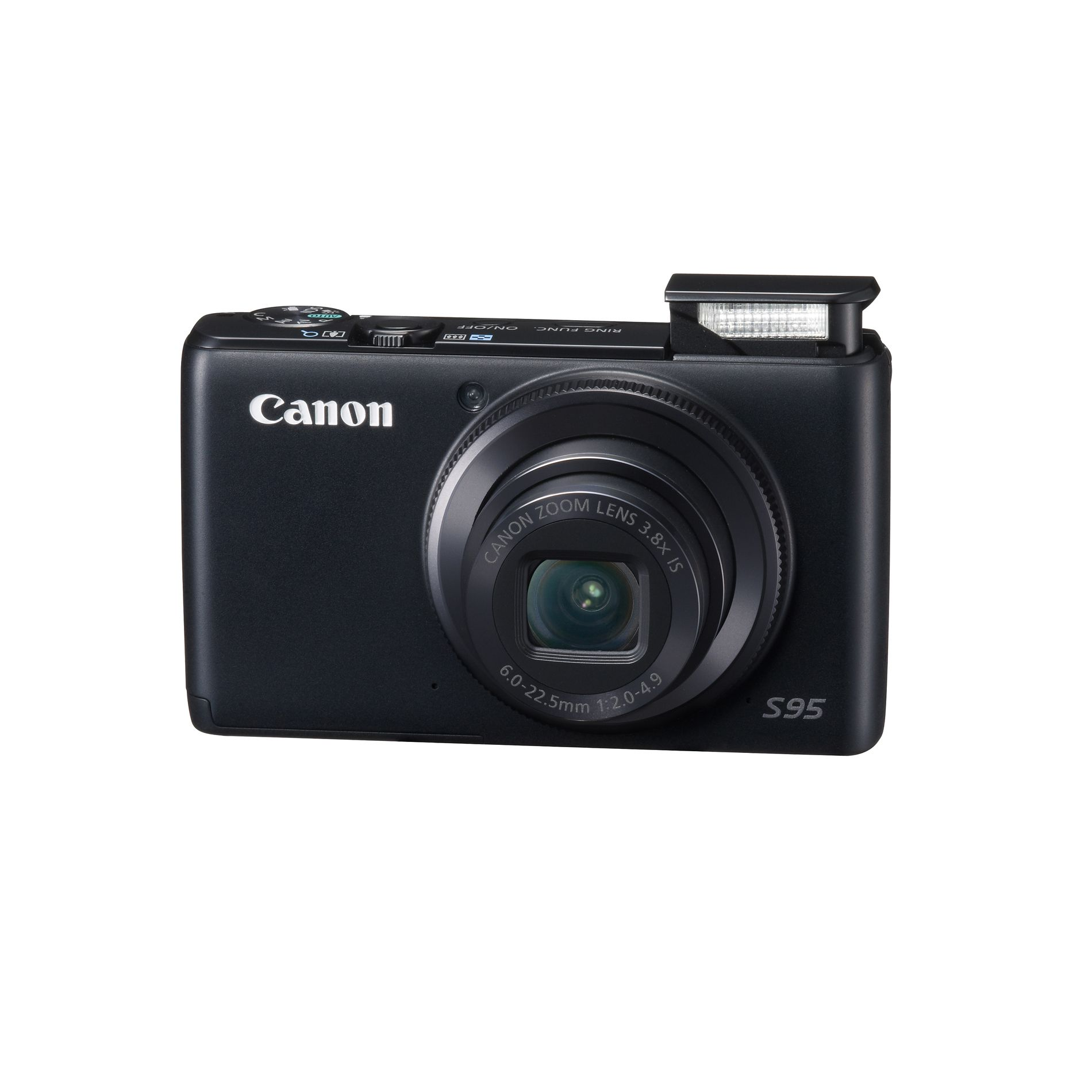 Canon PowerShot S95 Digital Camera - Black