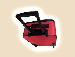American Tourister 7 Piece Luggage Set Red