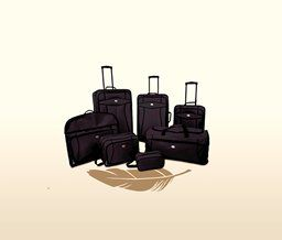 American Tourister American Tourister 7 Piece Set (Black)
