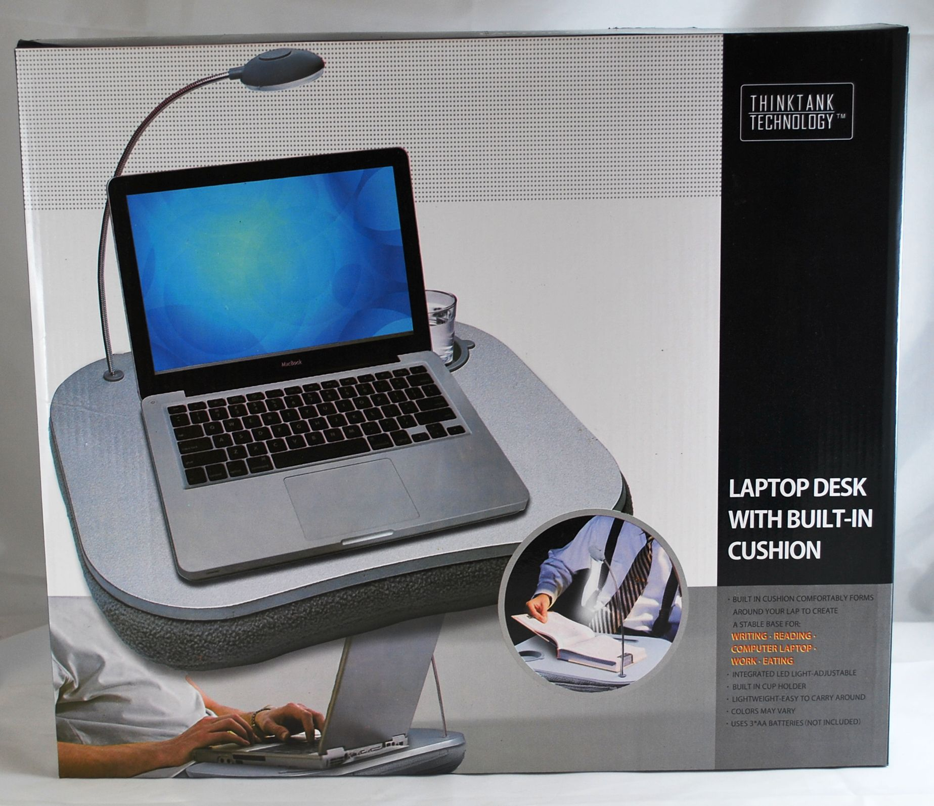 Thinktank Technology Lap Desk with Built In Cushion
