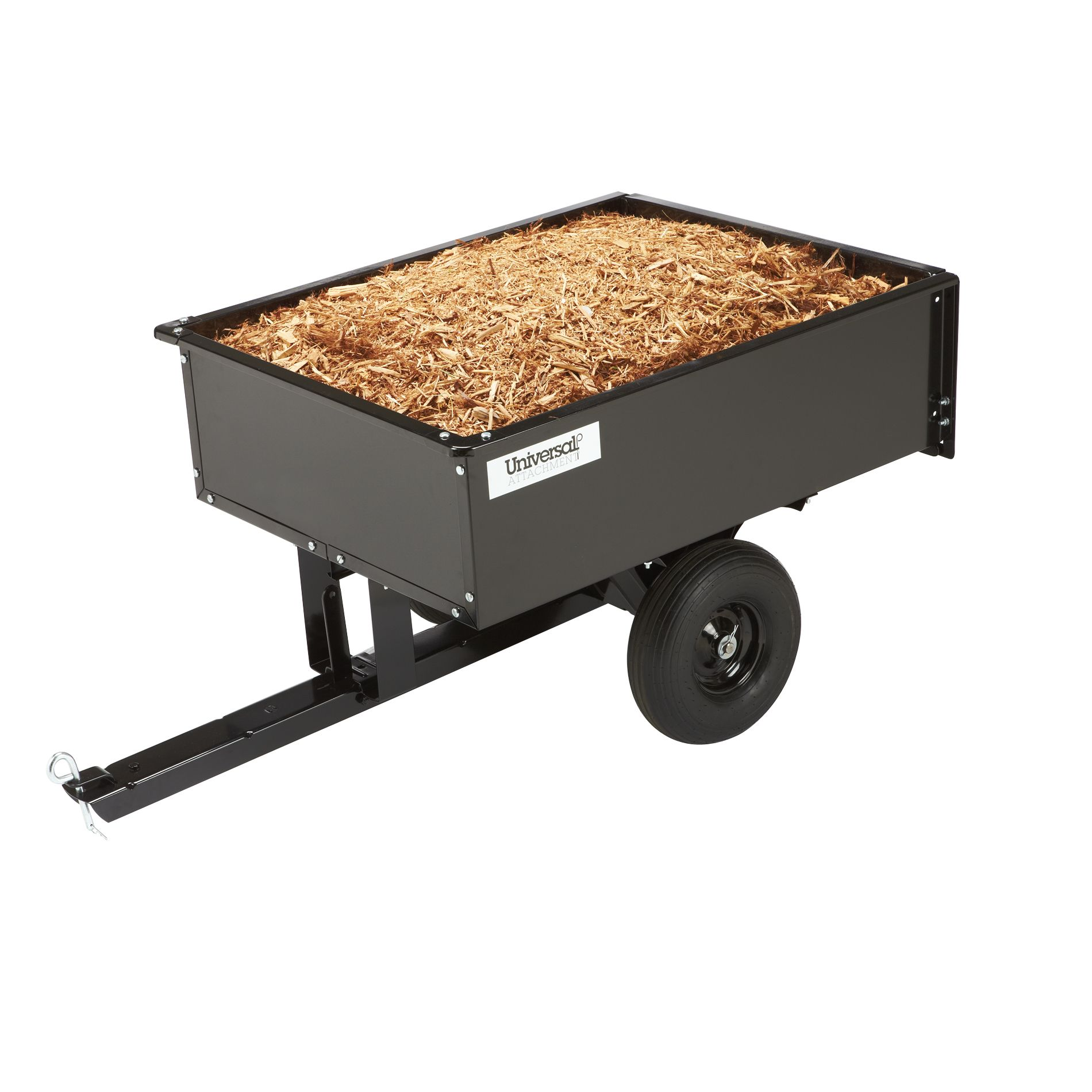 Universal 10 cu. ft. Steel Dump Cart