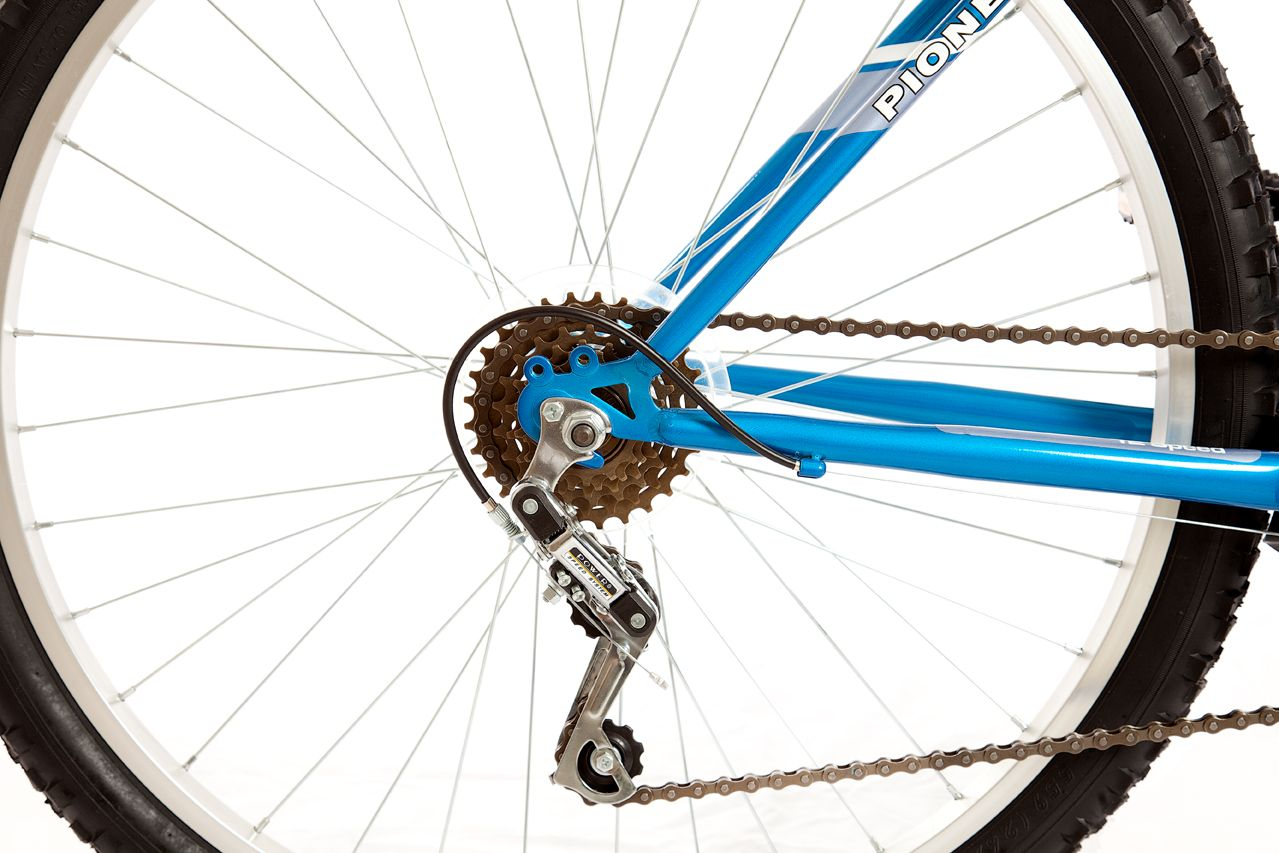 Titan Pioneer Mens All Terrain Mountain Bike - Blue