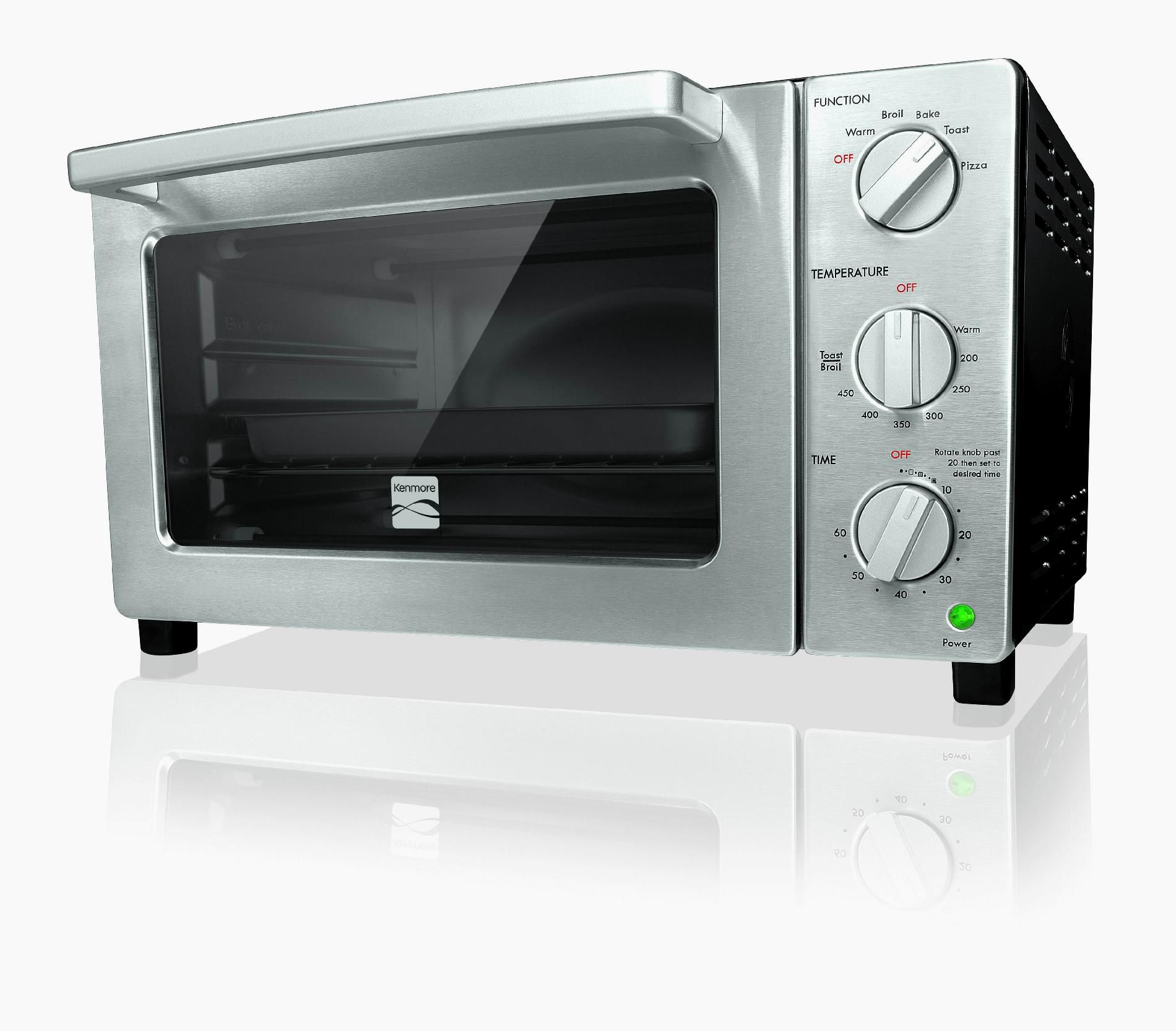 Kenmore 6 Slice Black Convection Toaster Oven
