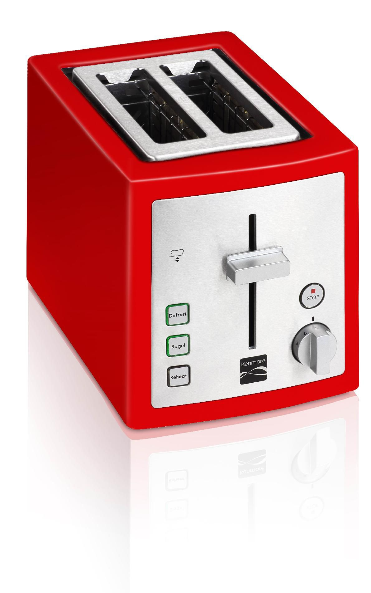 Kenmore 2-Slice Toaster, Red