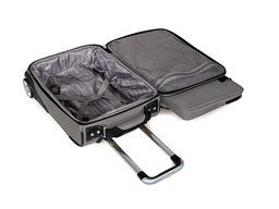 "Samsonite Traveller DLX 17"" Upright (Silver)"