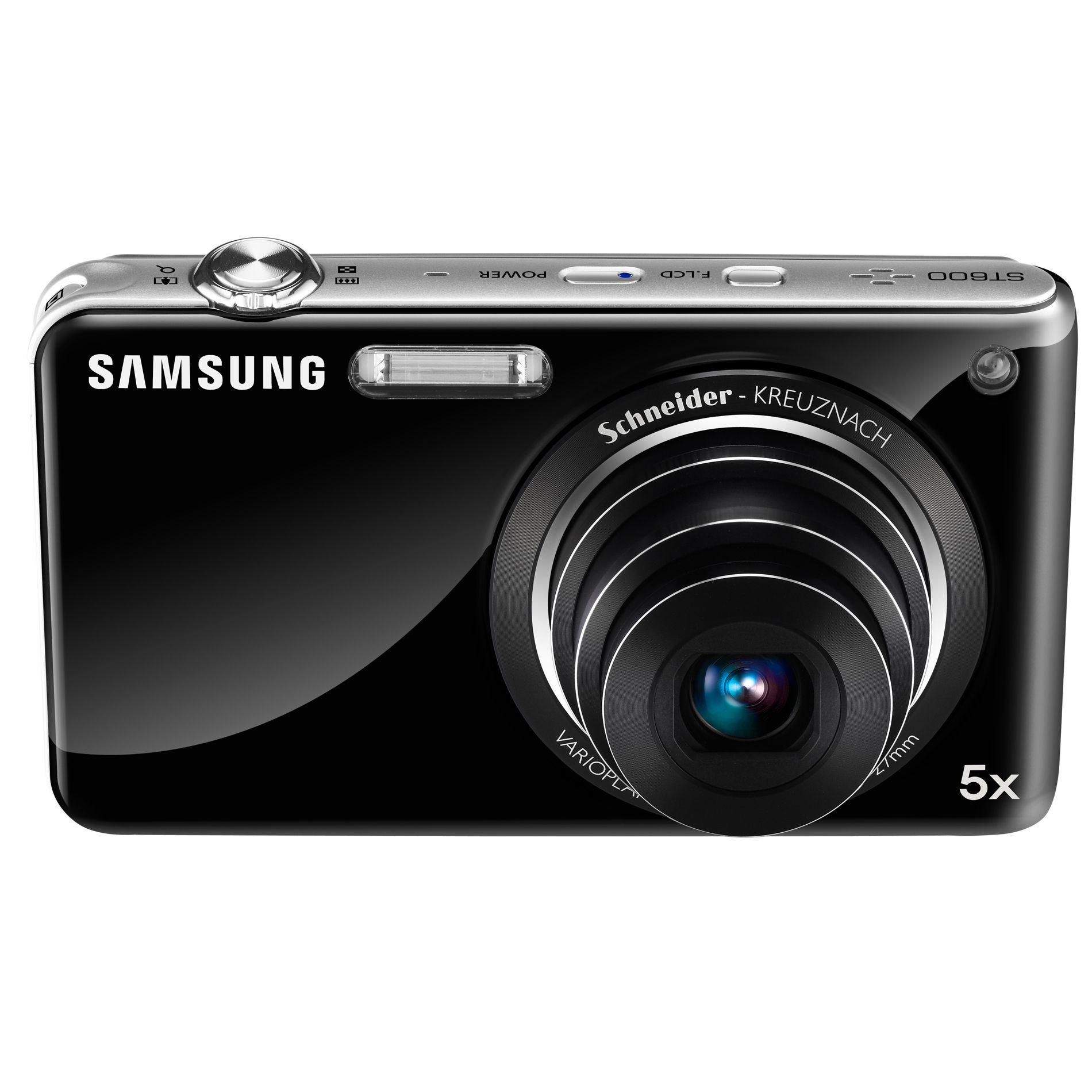 Samsung ST600 Digital Camera - Black