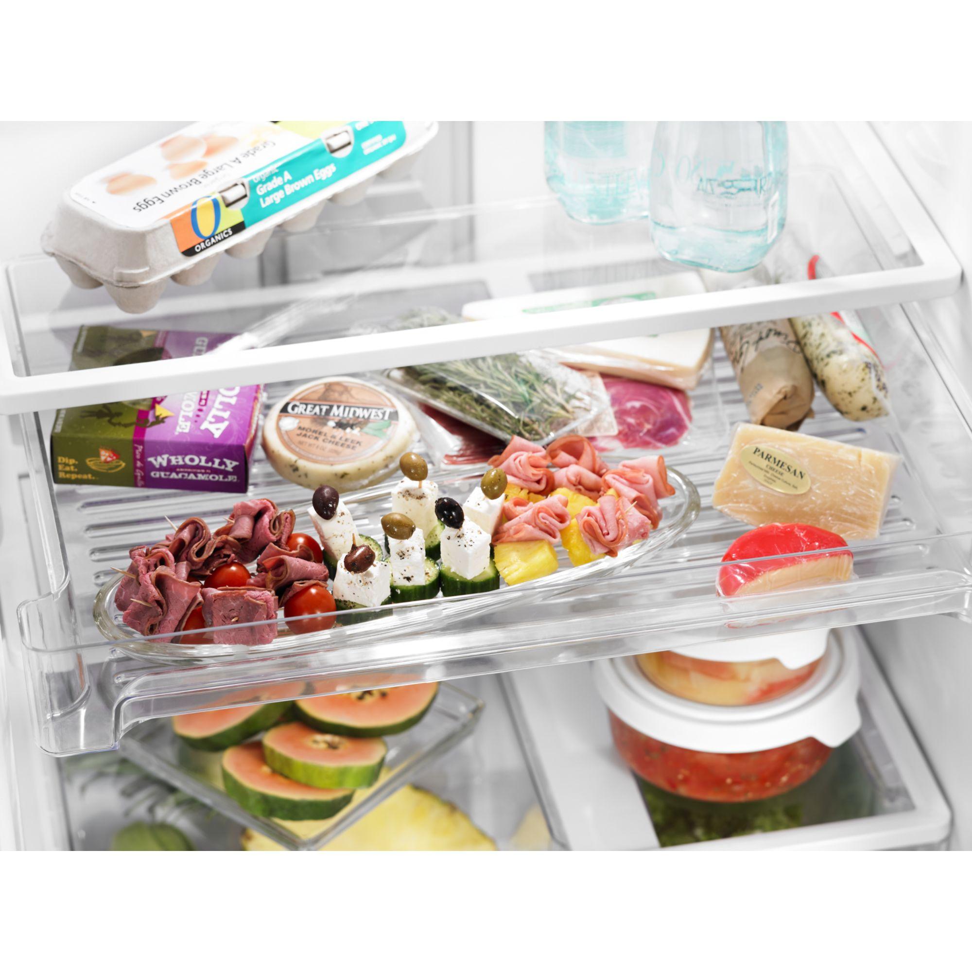Whirlpool 21.1 cu. ft. Top-freezer Refrigerator w/ CEE Tier 3 Rating - Black