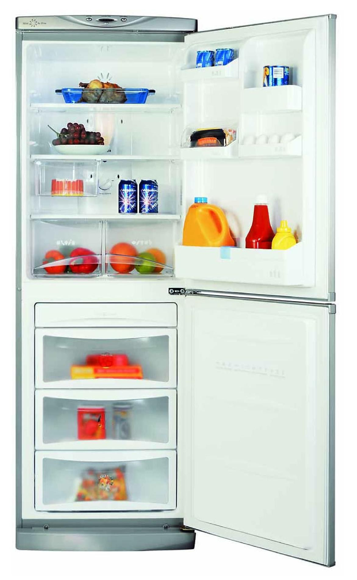 LG 10 cu. ft. Bottom-Freezer Refrigerator, White