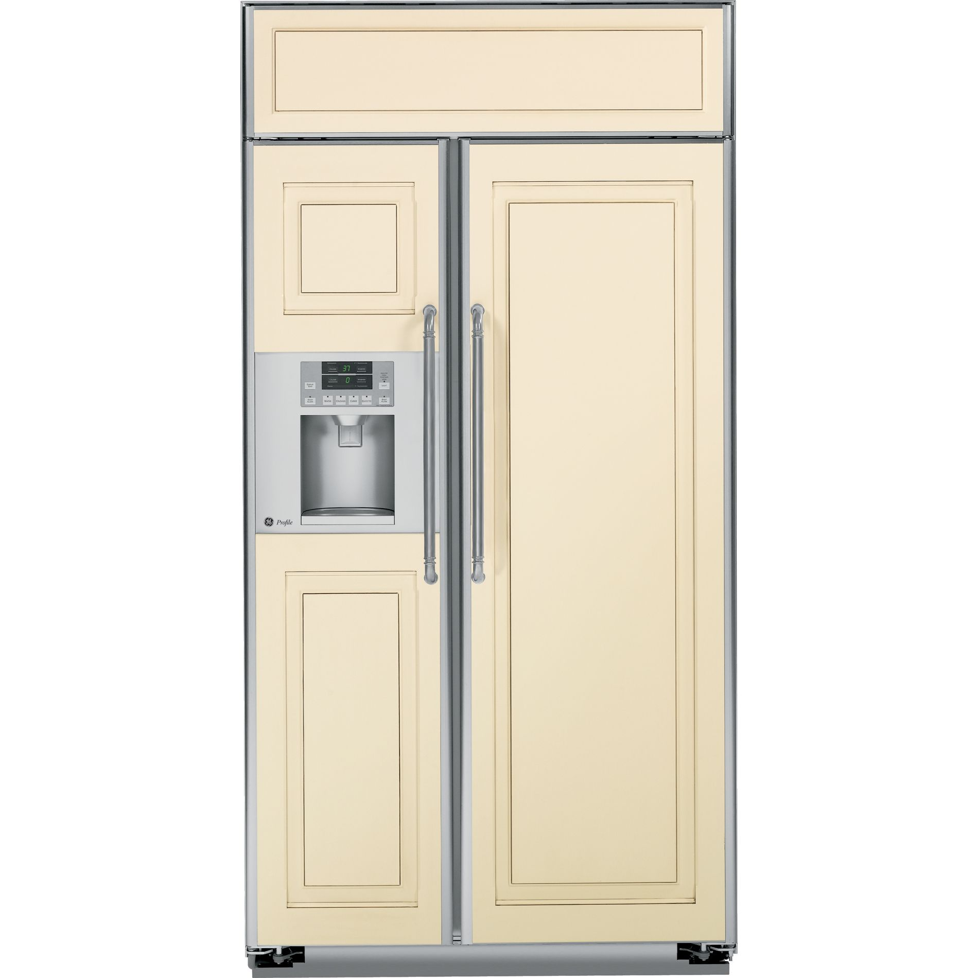 GE Profile™ Series 25.2 cu. ft. Built-In Side-by-Side Refrigerator - Panel Ready