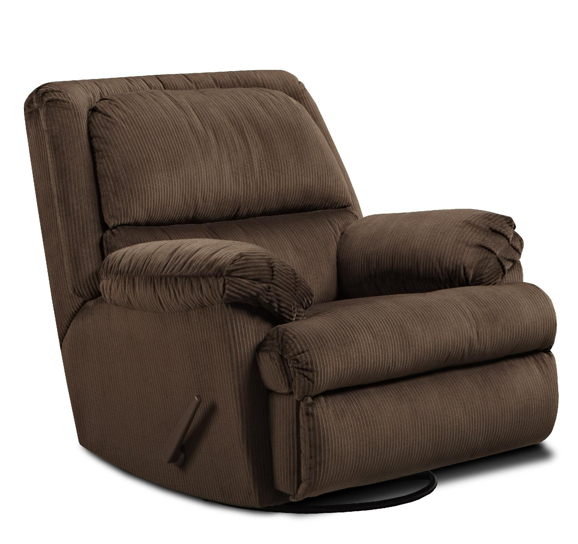 Simmons Bulldog Glider Swivel Recliner