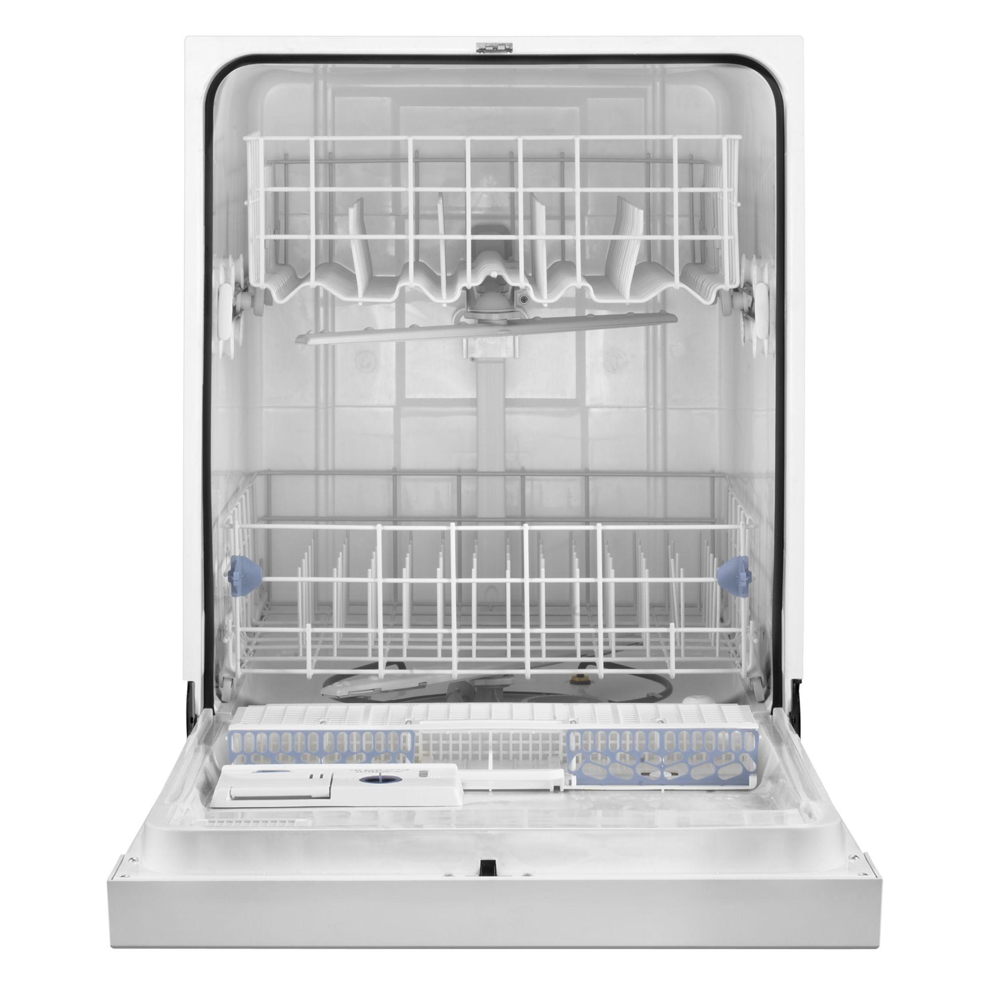"Whirlpool 24"" Dishwasher w/ AnyWare™ Plus Silverware Basket - Bisque"