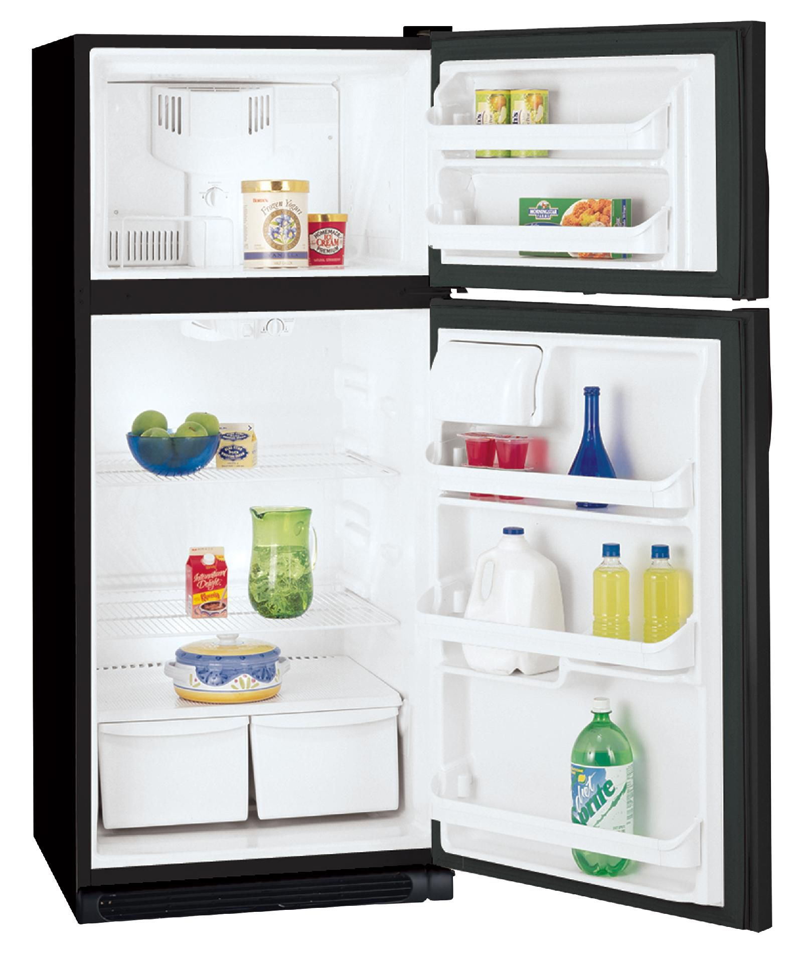 Kenmore 16.5 cu. ft. Top-Freezer Refrigerator, Non-Ice - Black