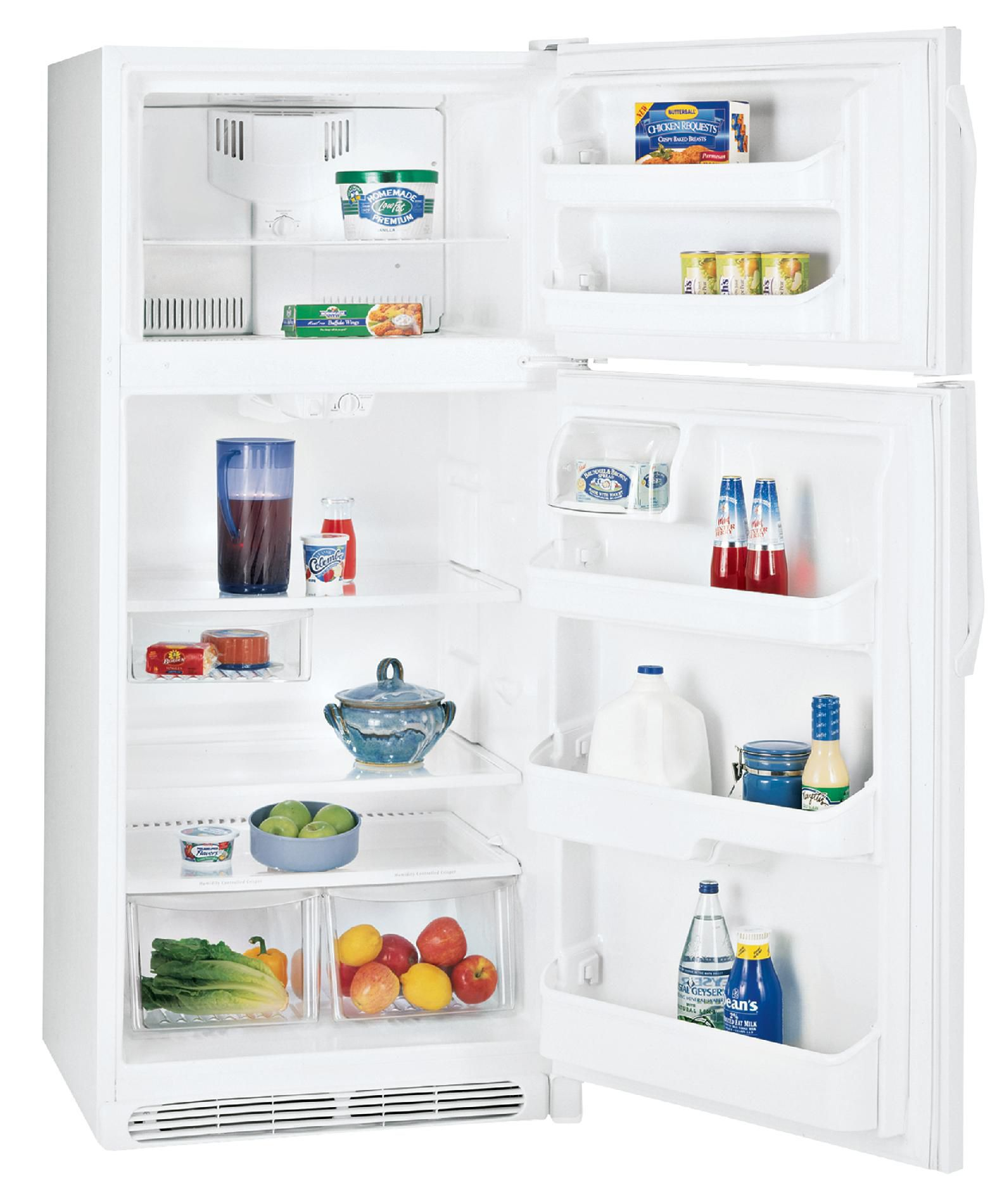 Kenmore 20.5 cu. ft. Top-Freezer Refrigerator - White