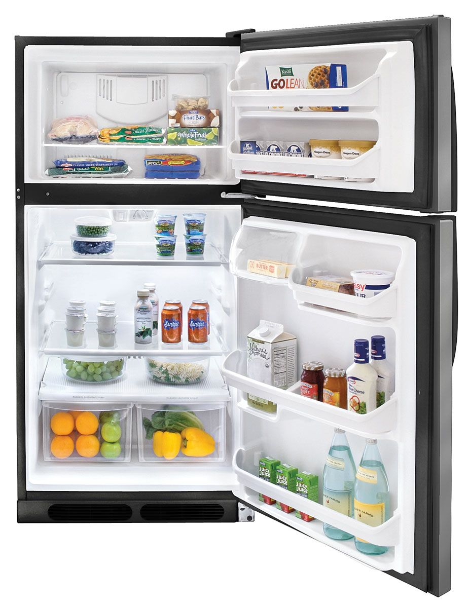 Kenmore 14.8 cu. ft. Top-Freezer Refrigerator - Stainless Steel