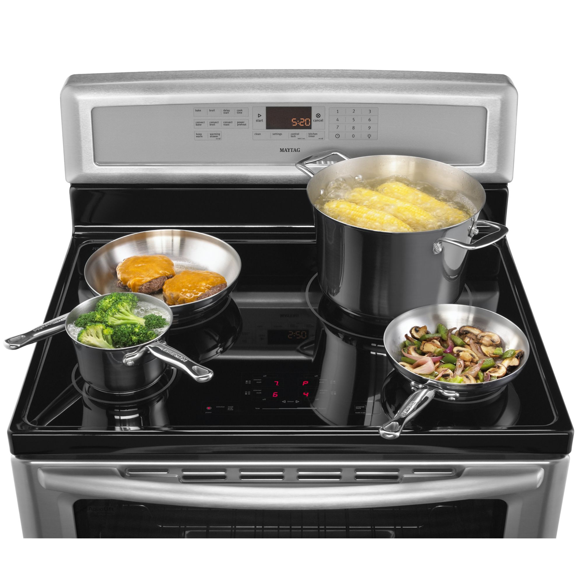 Maytag 6.2 cu. ft. Induction Electric Range