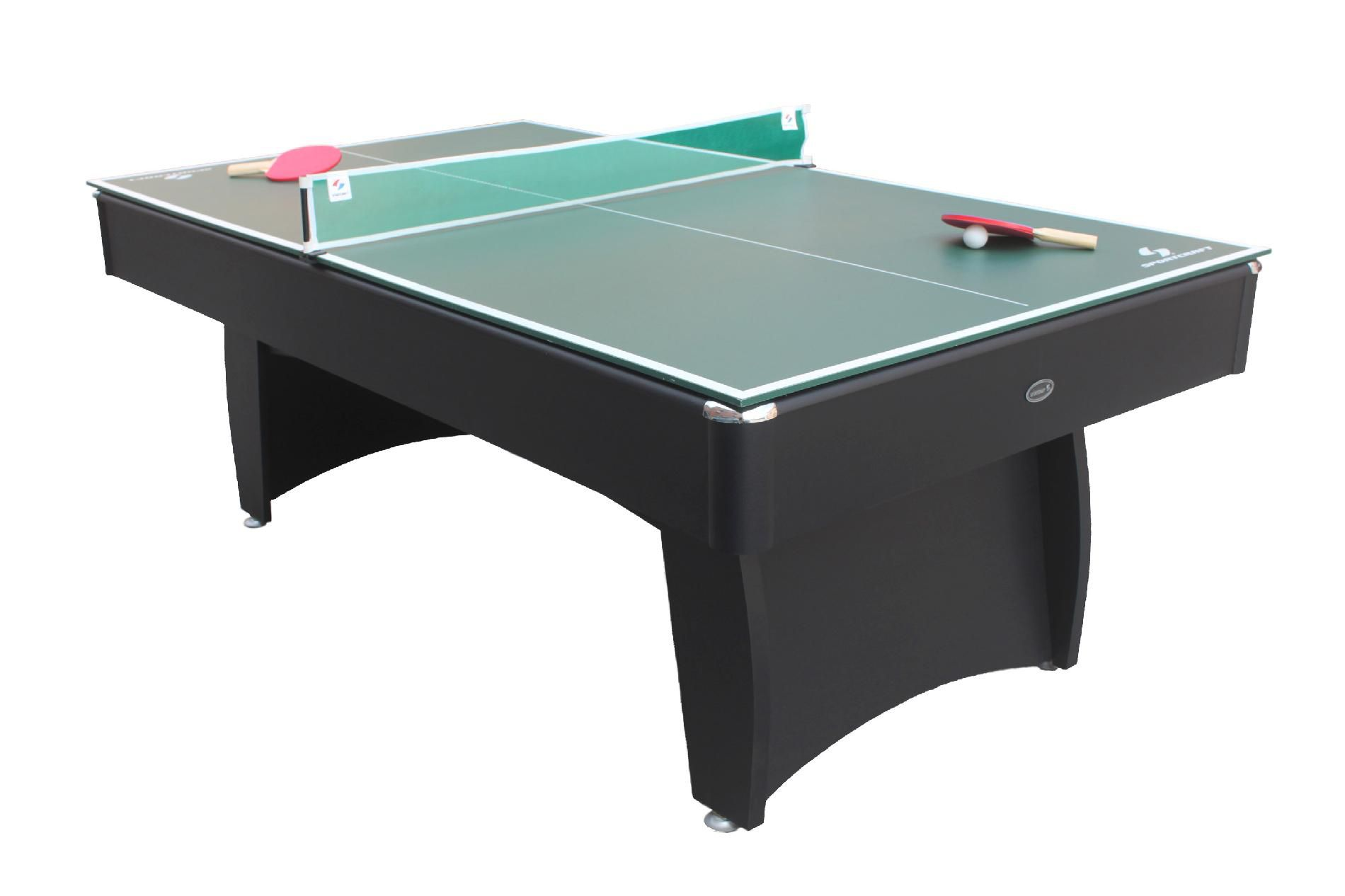 Sportcraft 7ft. Auburn Billiard Table with Bonus Table Tennis Top