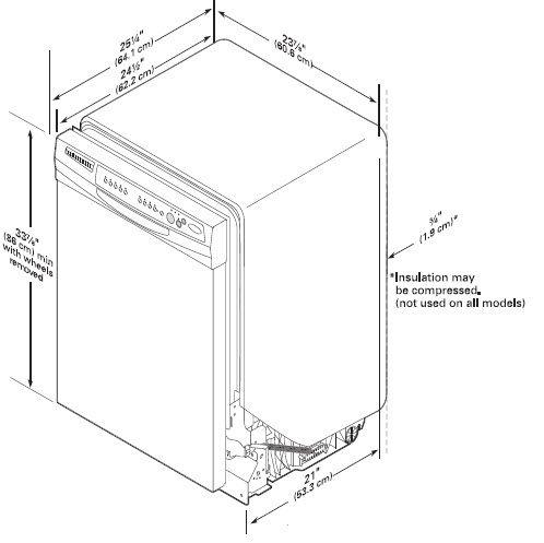 """Kenmore 24"""" Built-In Dishwasher w/ Sani-Rinse™ - White"""