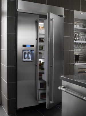 Jenn-Air 25.3 cu. ft. Built-In Side-By-Side Refrigerator